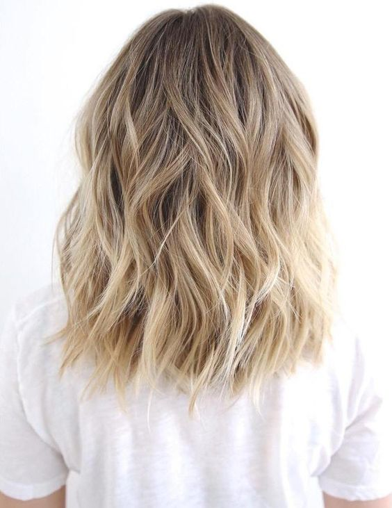 Balayage Blonde Hair Color