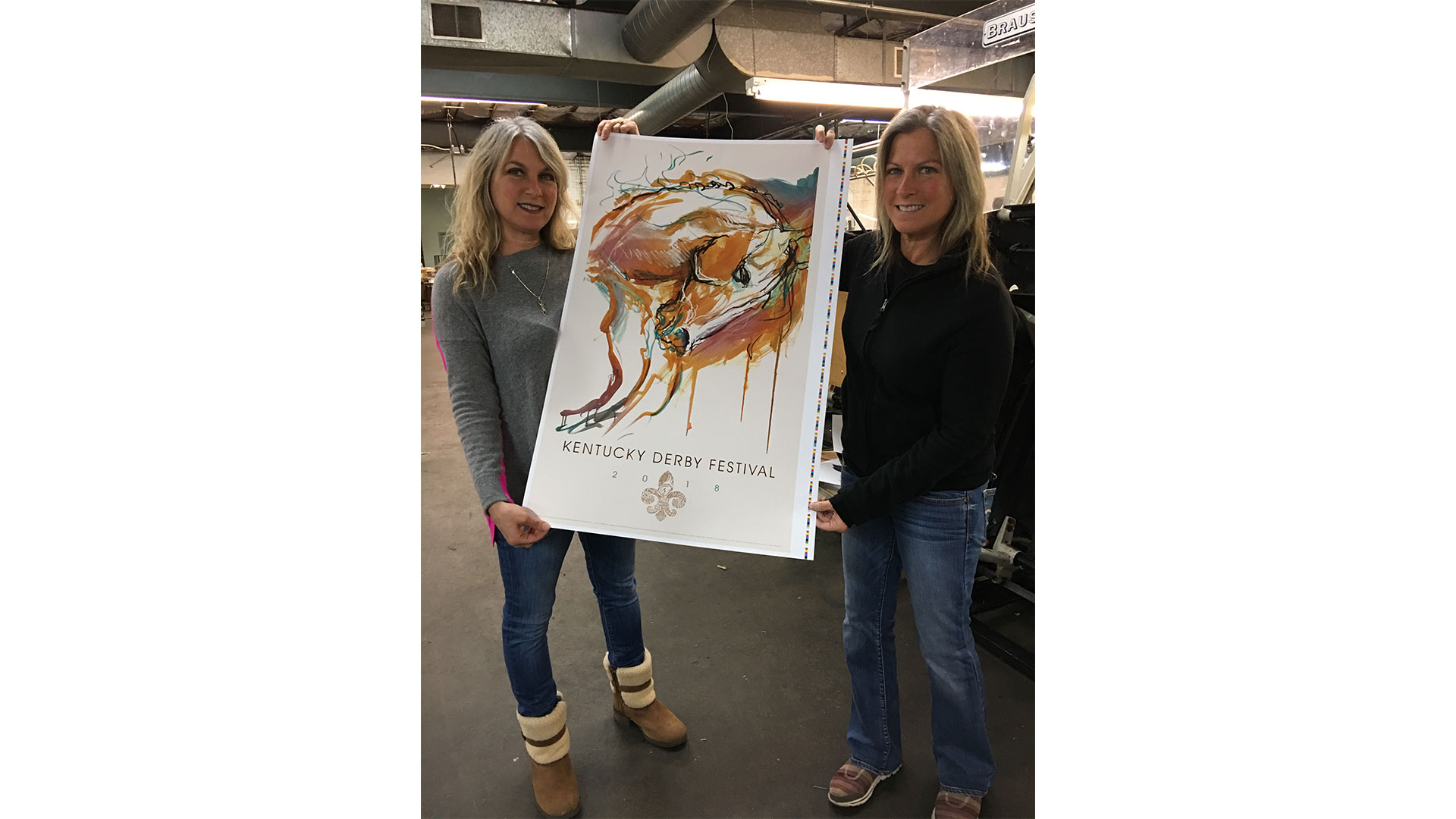 The Barnhart Sisters and the Kentucky Derby Poster 2018