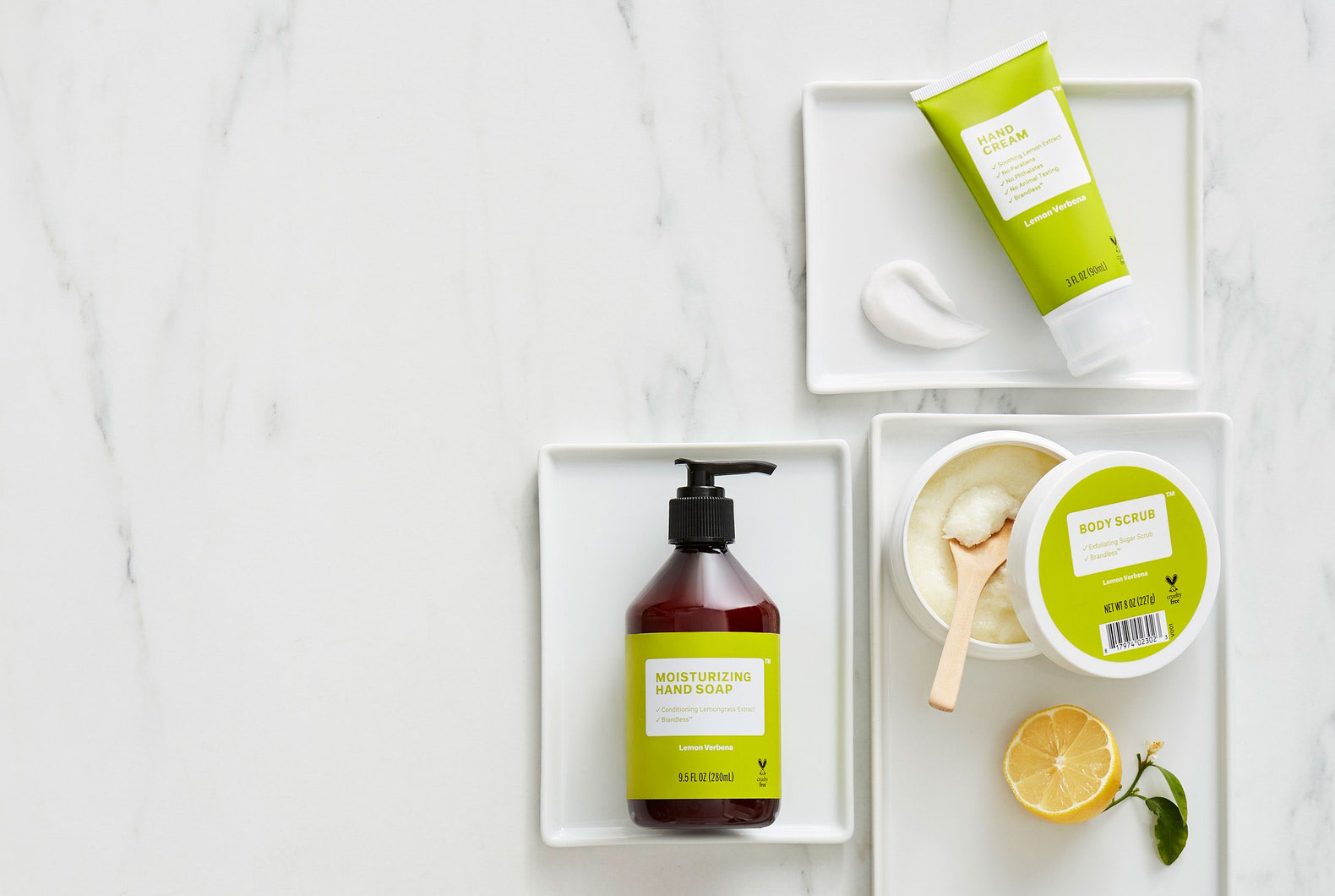 Brandless Lemon Verbena Beauty Bundle