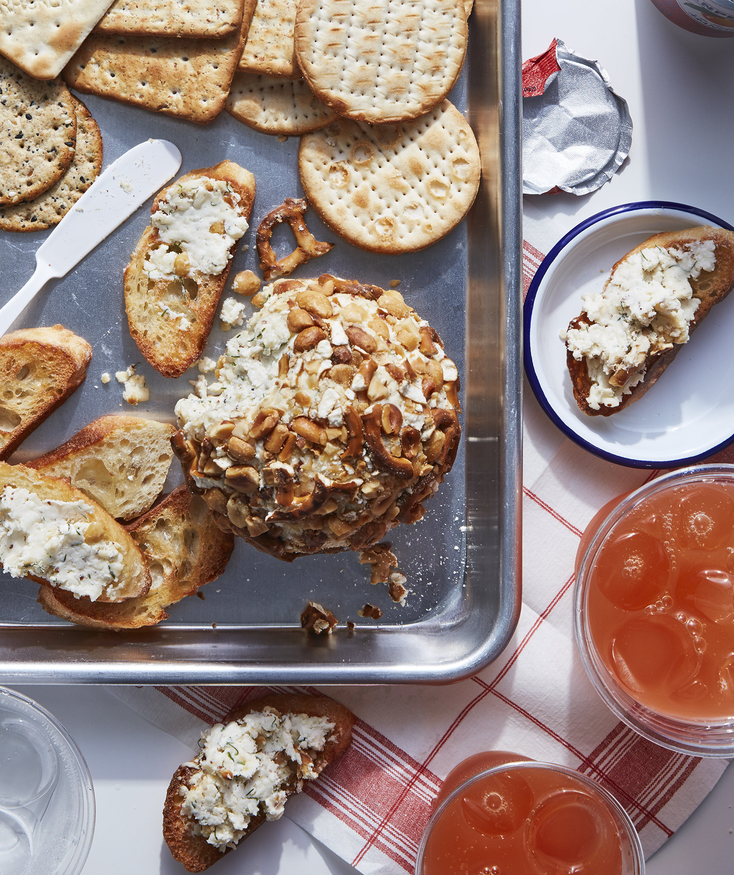 Pretzel-and-Peanut Cheese Ball
