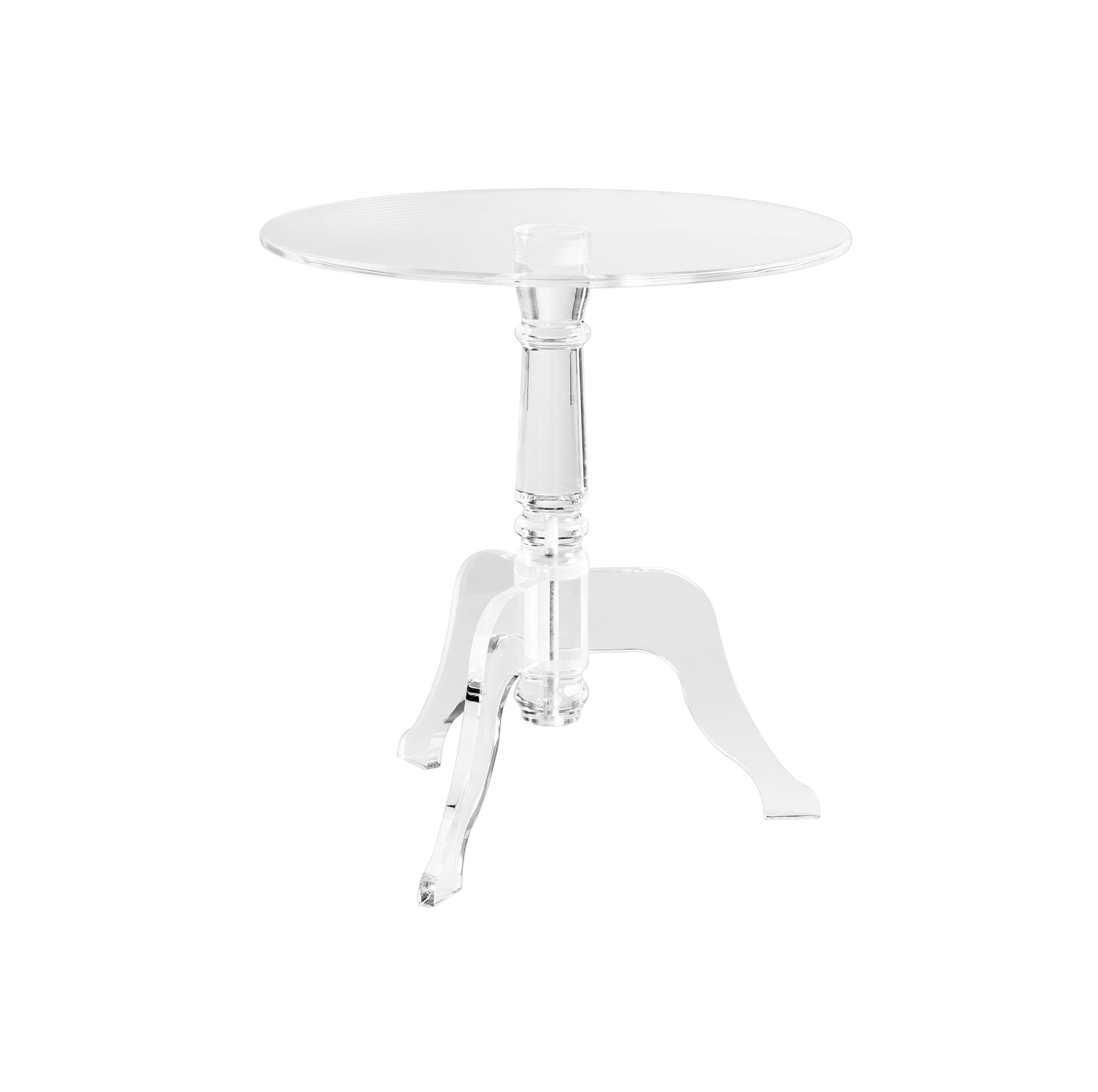 Clear Acrylic Zella Accent Table