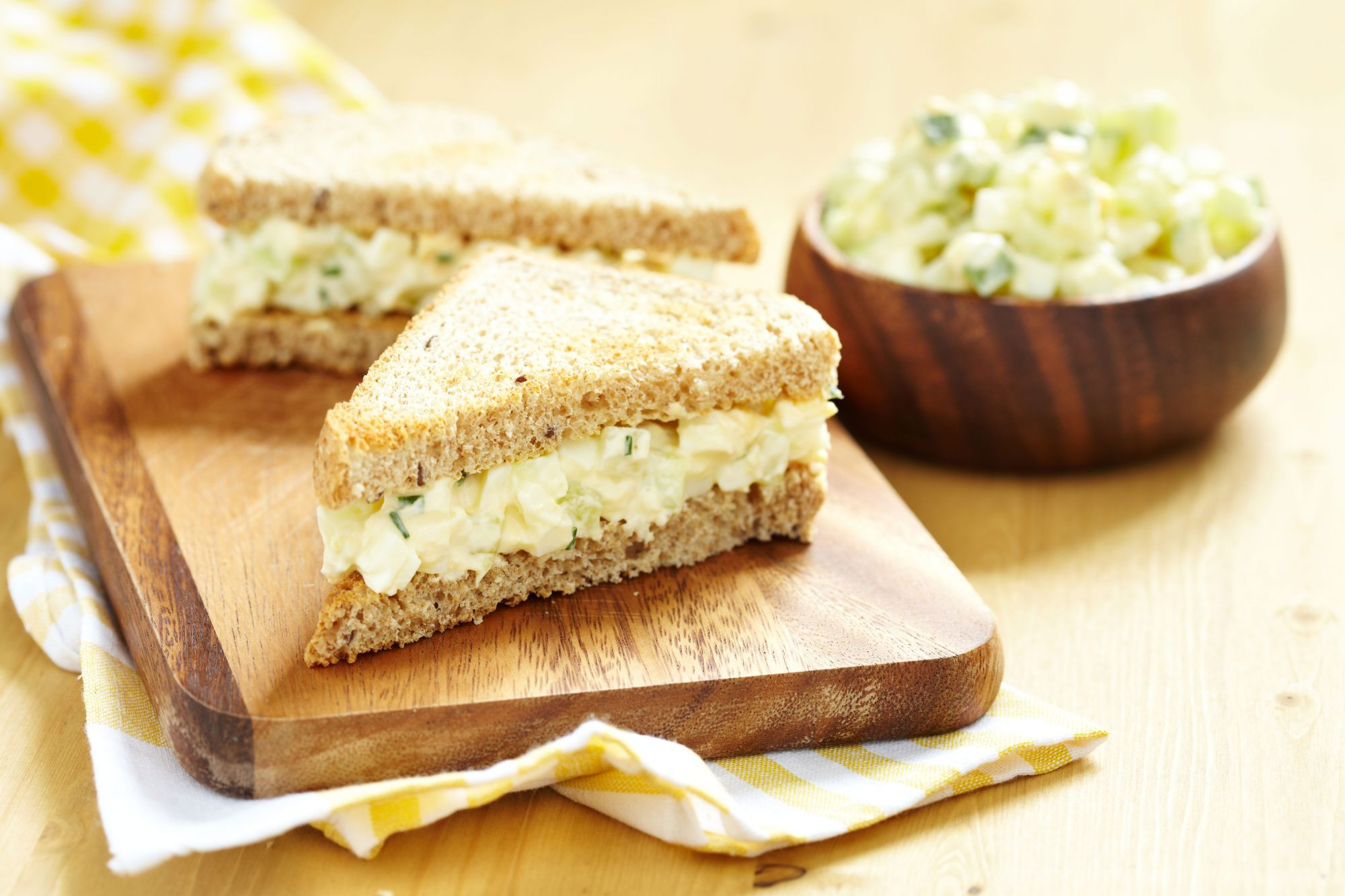 The Unexpected Tool You Need For Making The Creamiest Egg Salad