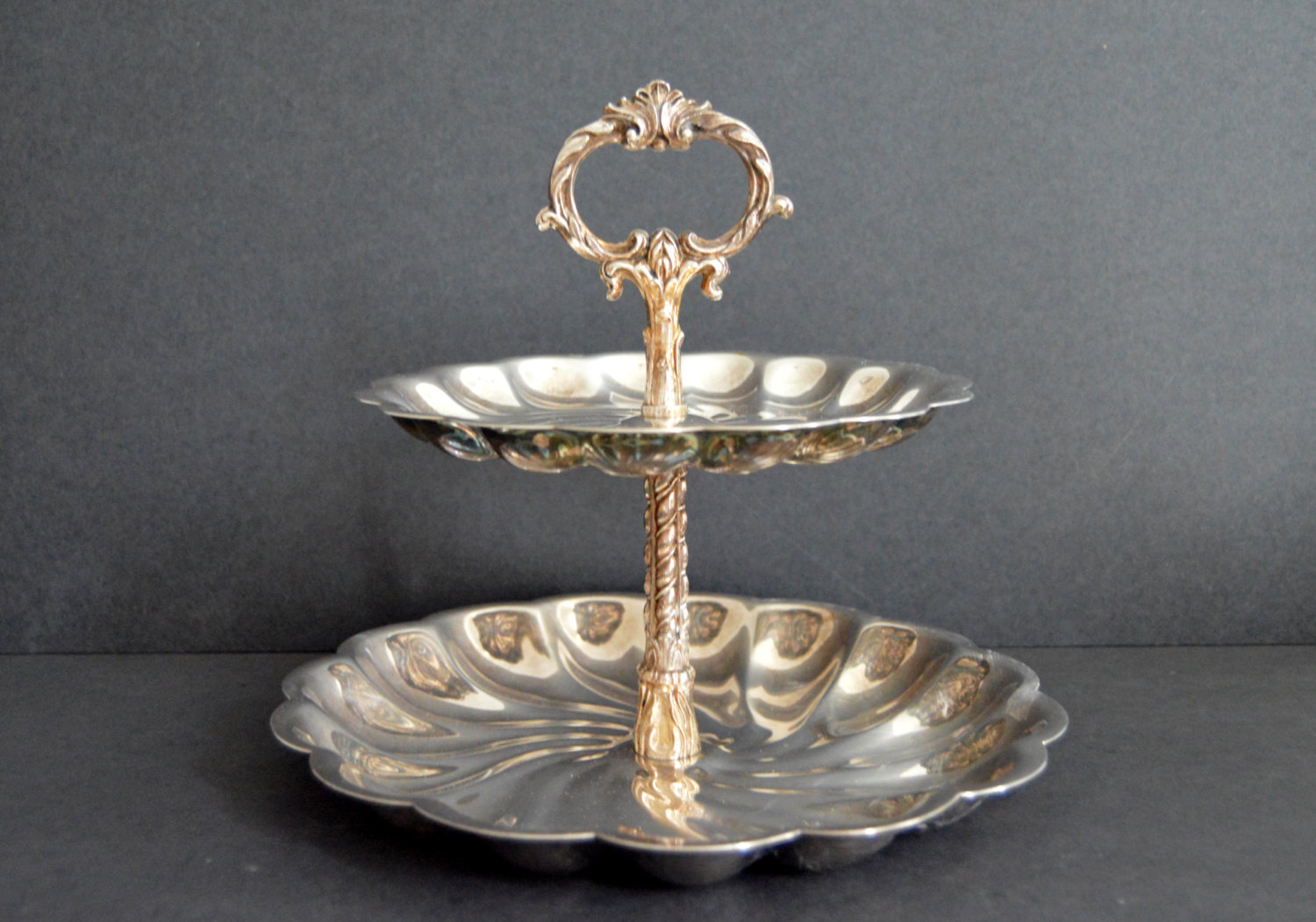 FB Rogers Two-Tier Serving Tray