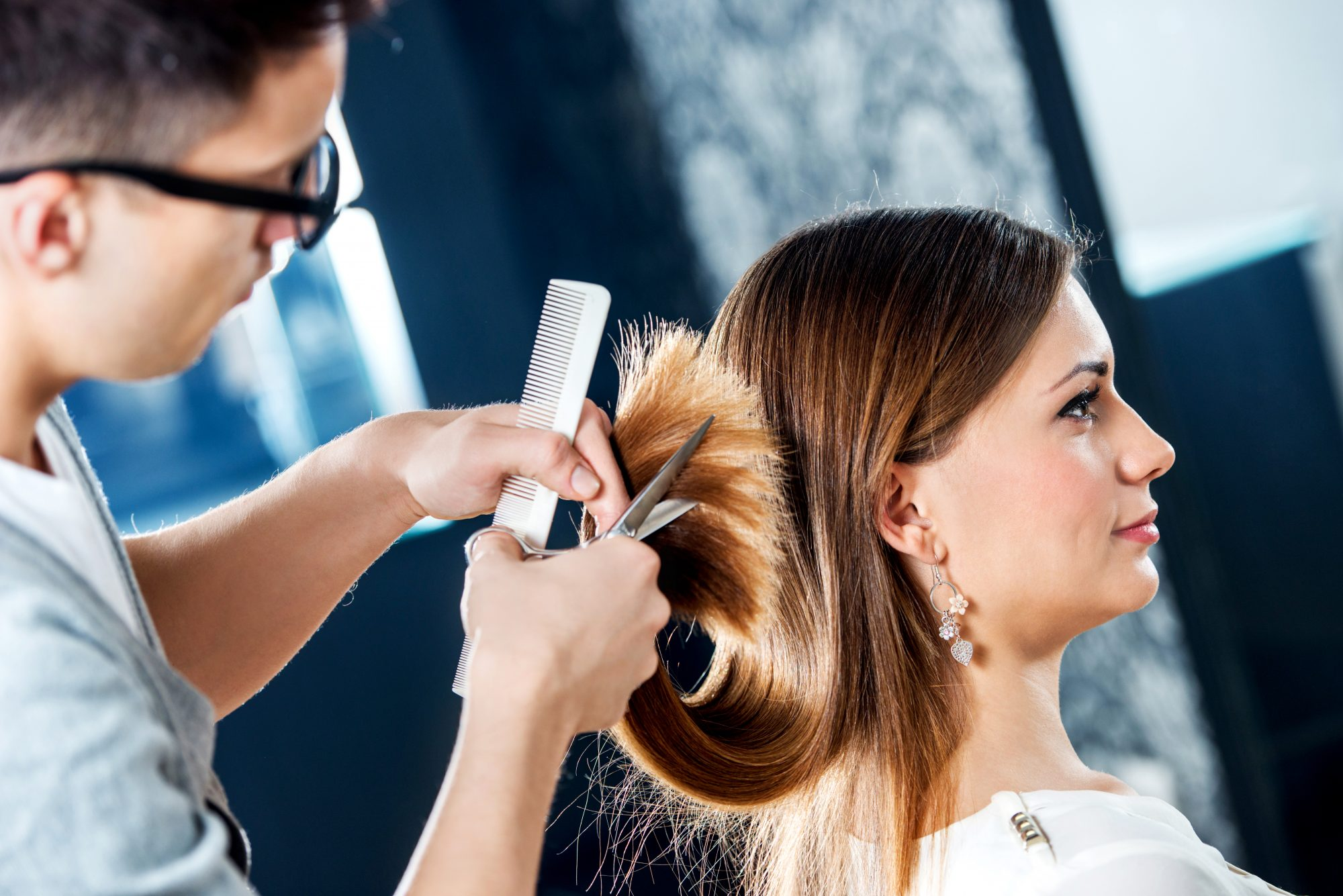 Why Everyone Is Booking Appointments To Get Their Hair Cut Dry