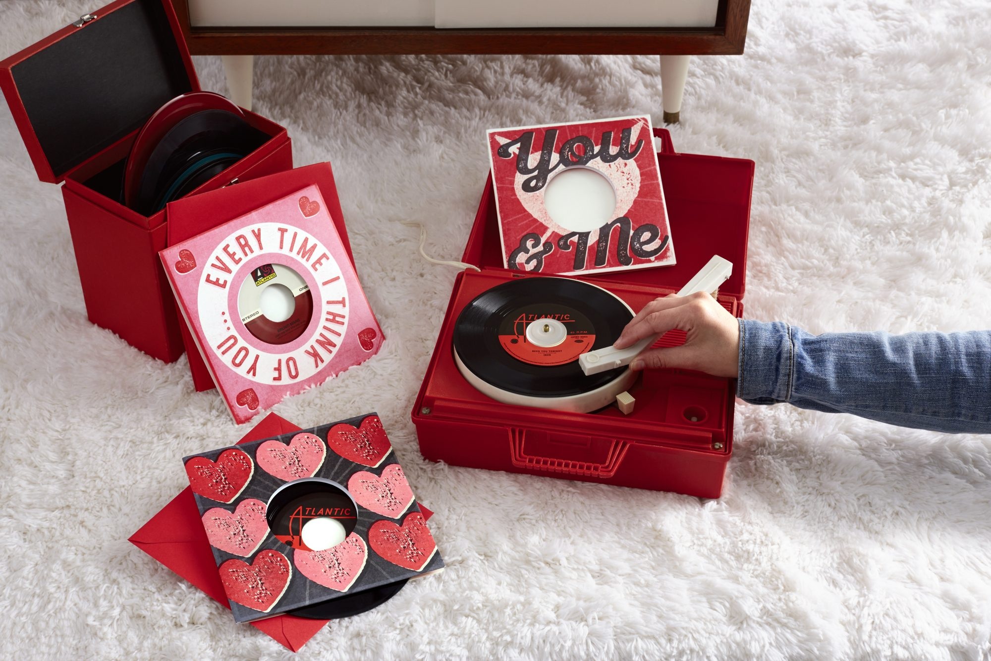 Valentine's Vinyl Records