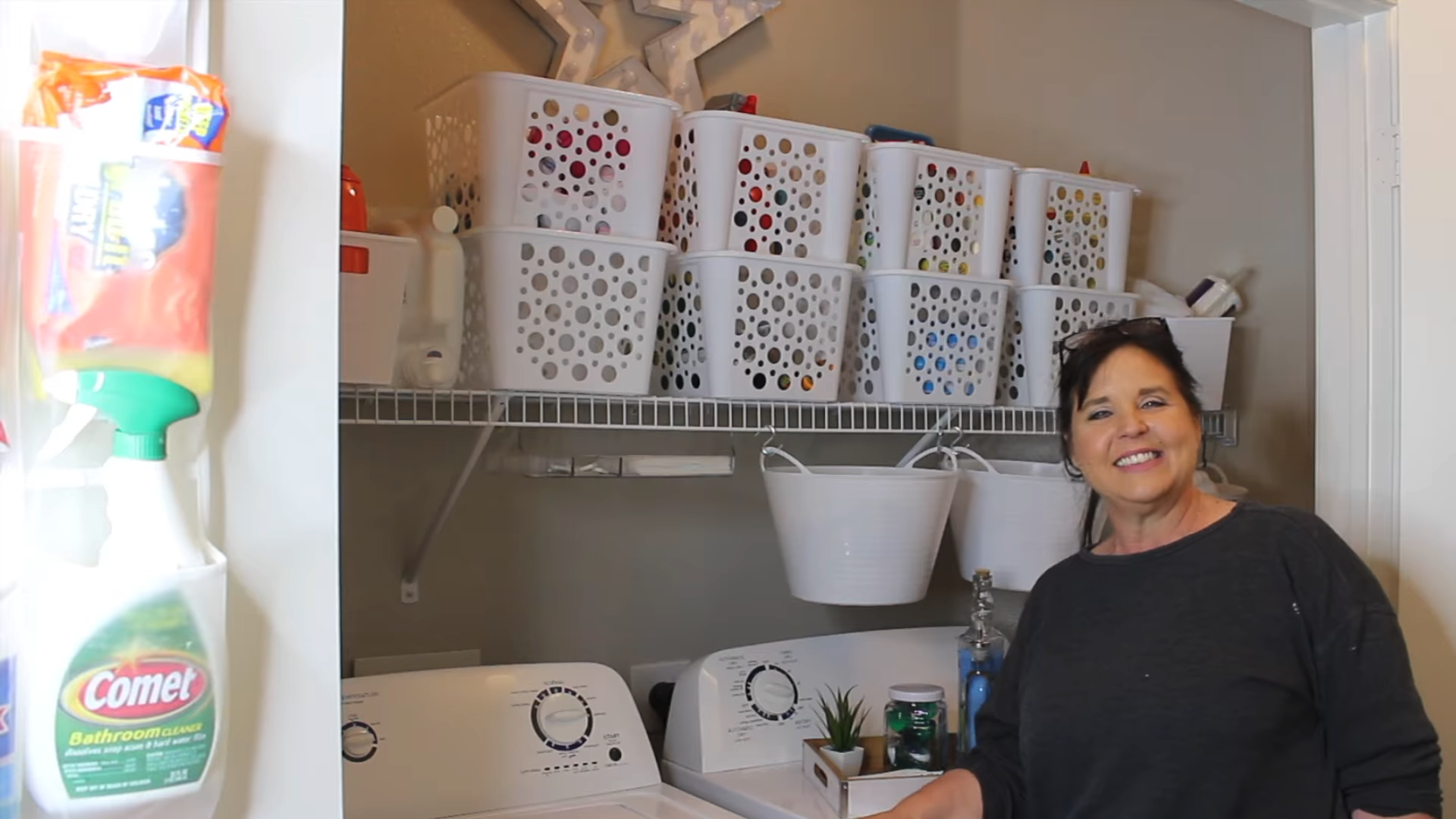 Tonya Payne and her Laundry Room