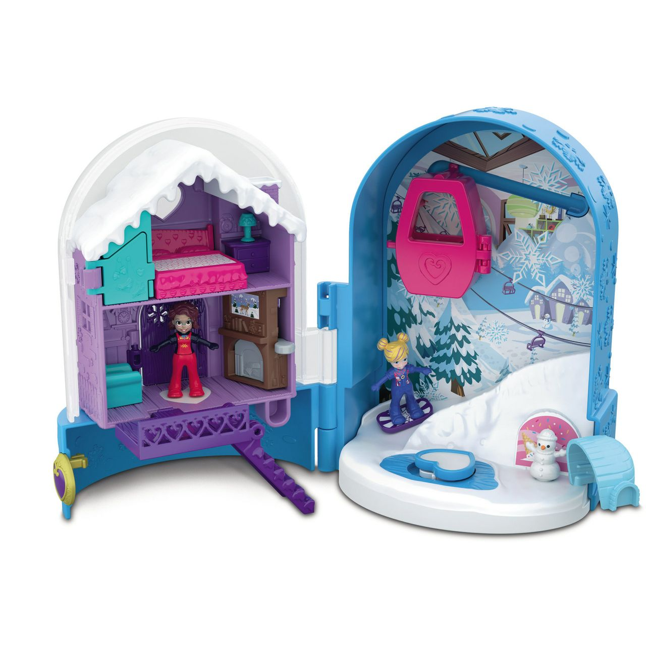 polly pocket snow globe