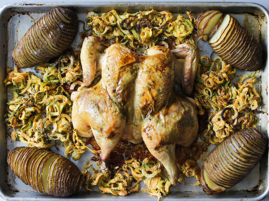 Sheet Pan Chicken Suppers For Every Night Of The Week Southern Living