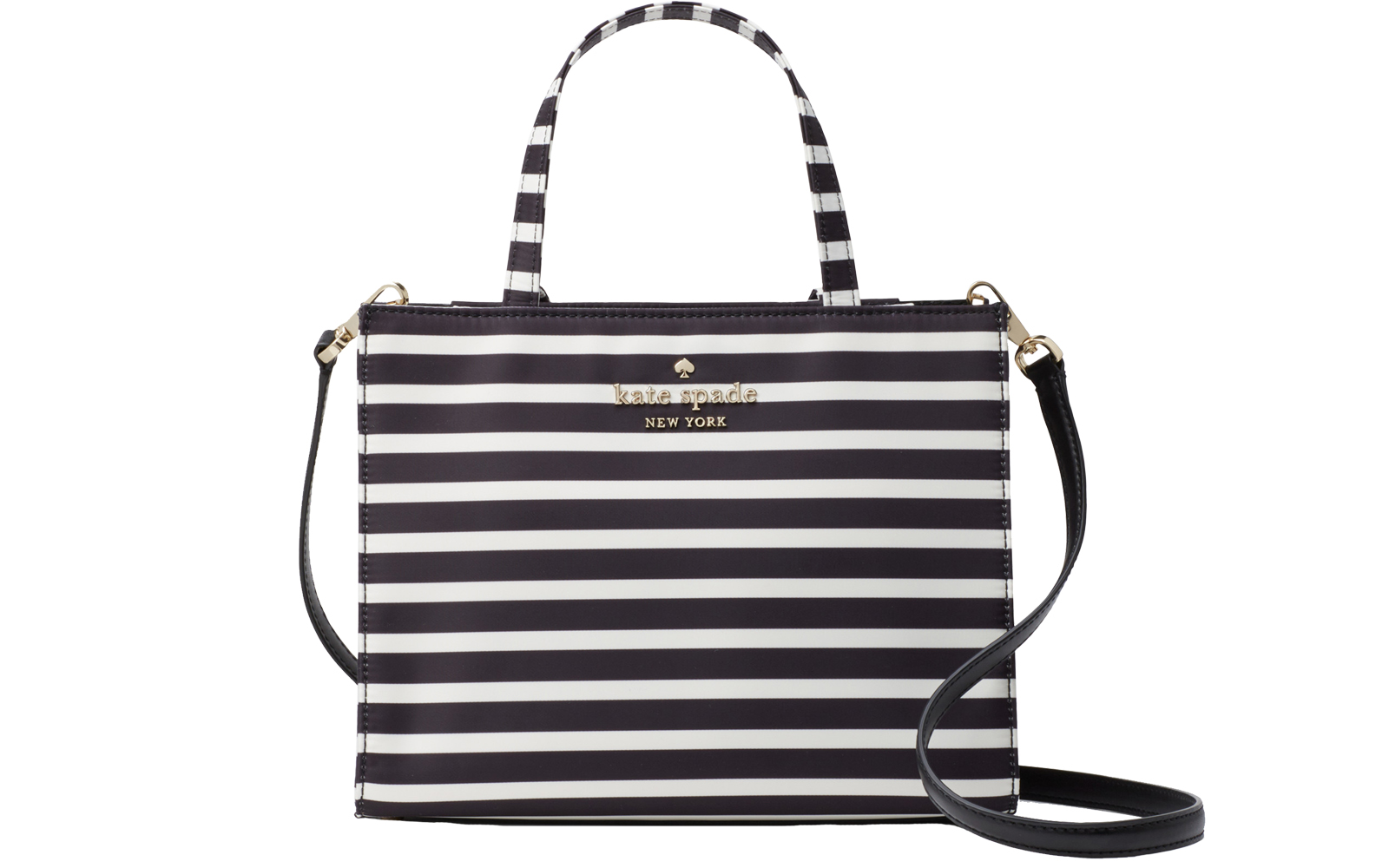 Watson Lane Sam in Black/Clotted Cream Stripes