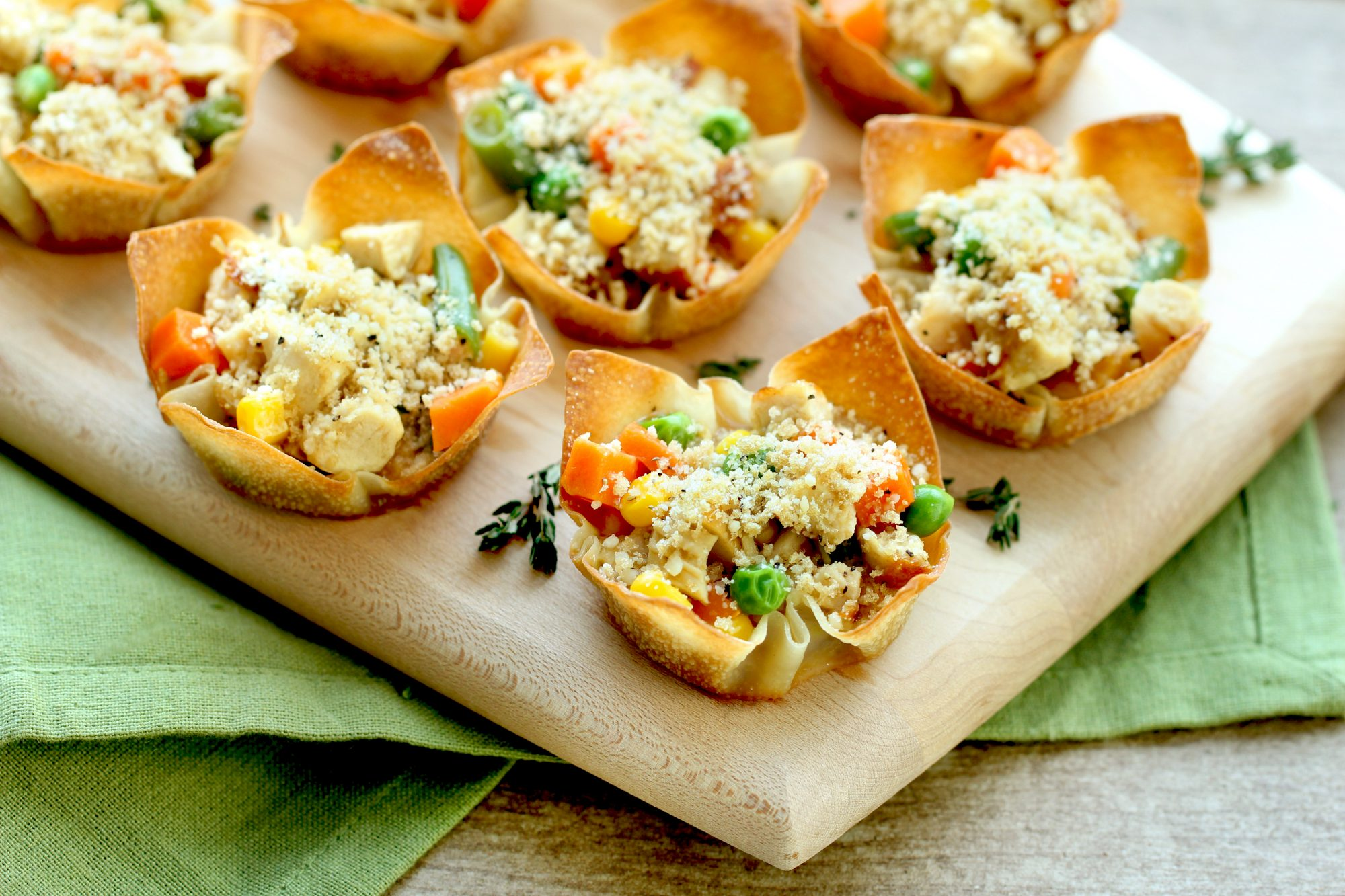 Hungry Girl: Mini Chicken Pot Pies You Can Make In a Muffin Pan