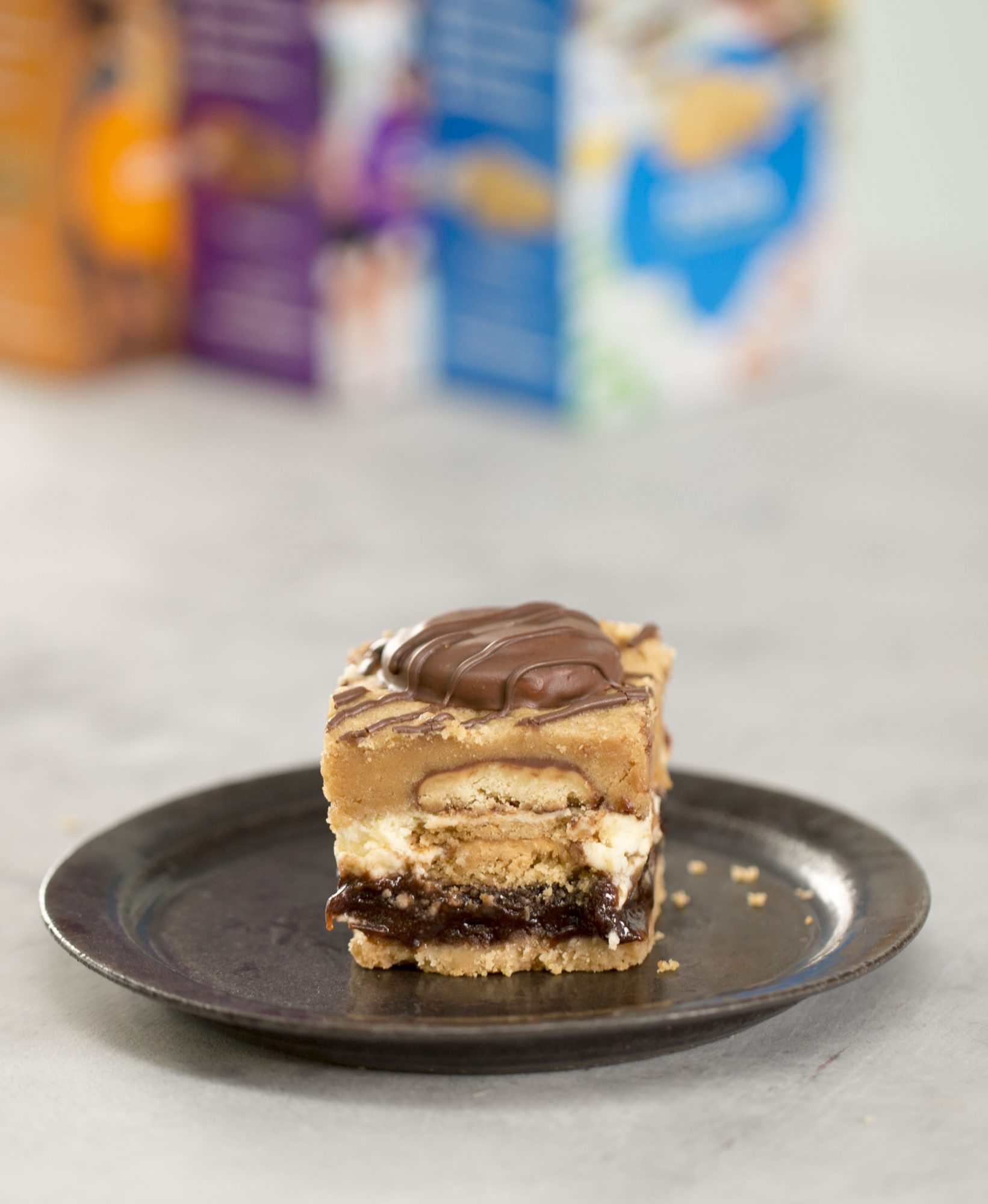 Girl Scout Cookie Layer Bars image