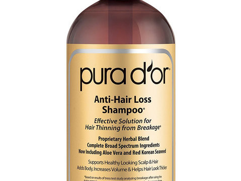 This Thinning Hair Shampoo Has Over 8,000 Positive Reviews on Amazon 032719-hair-shampoo-thinning-embed