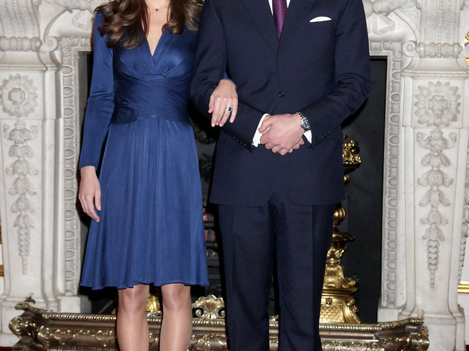 Kate Middleton's Famous Engagement Dress Isin Stock for Just $140