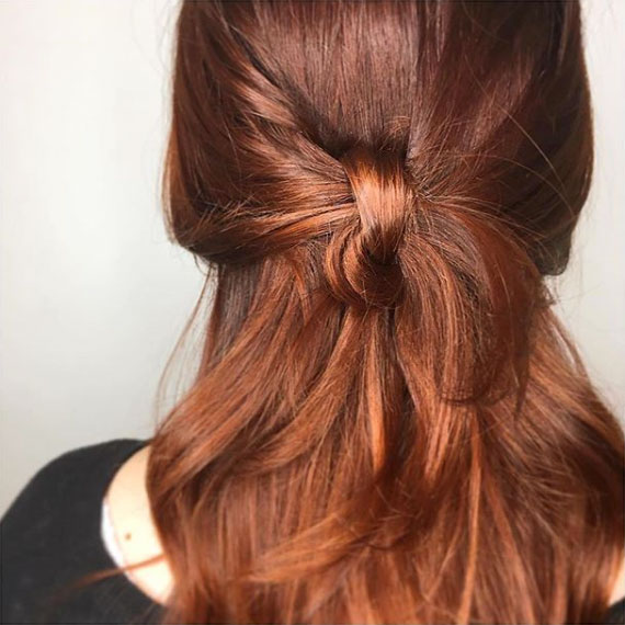 Red Velvet with Copper Balayage