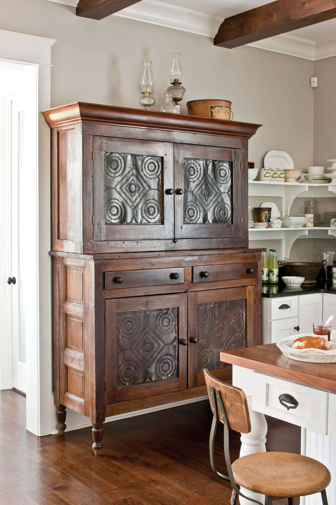 Vintage Pie Safe Cupboard