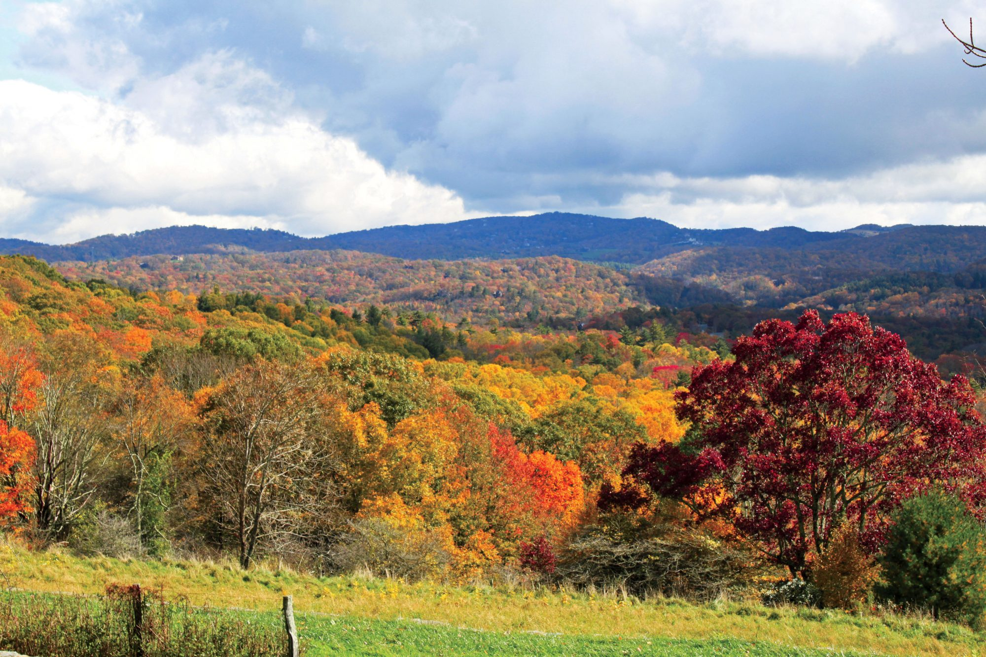 Blowing Rock and Blue Ridge