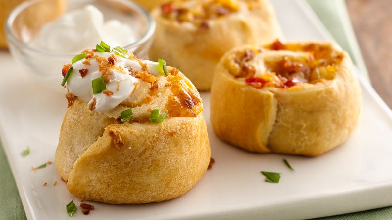 Loaded Potato Pinwheels