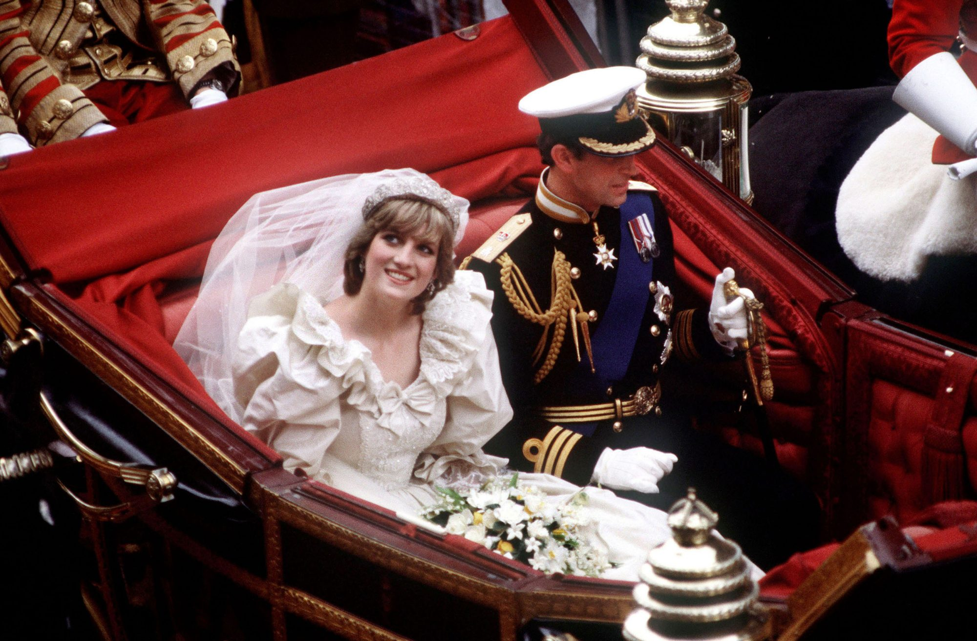 Princess Diana Wedding Day Carriage