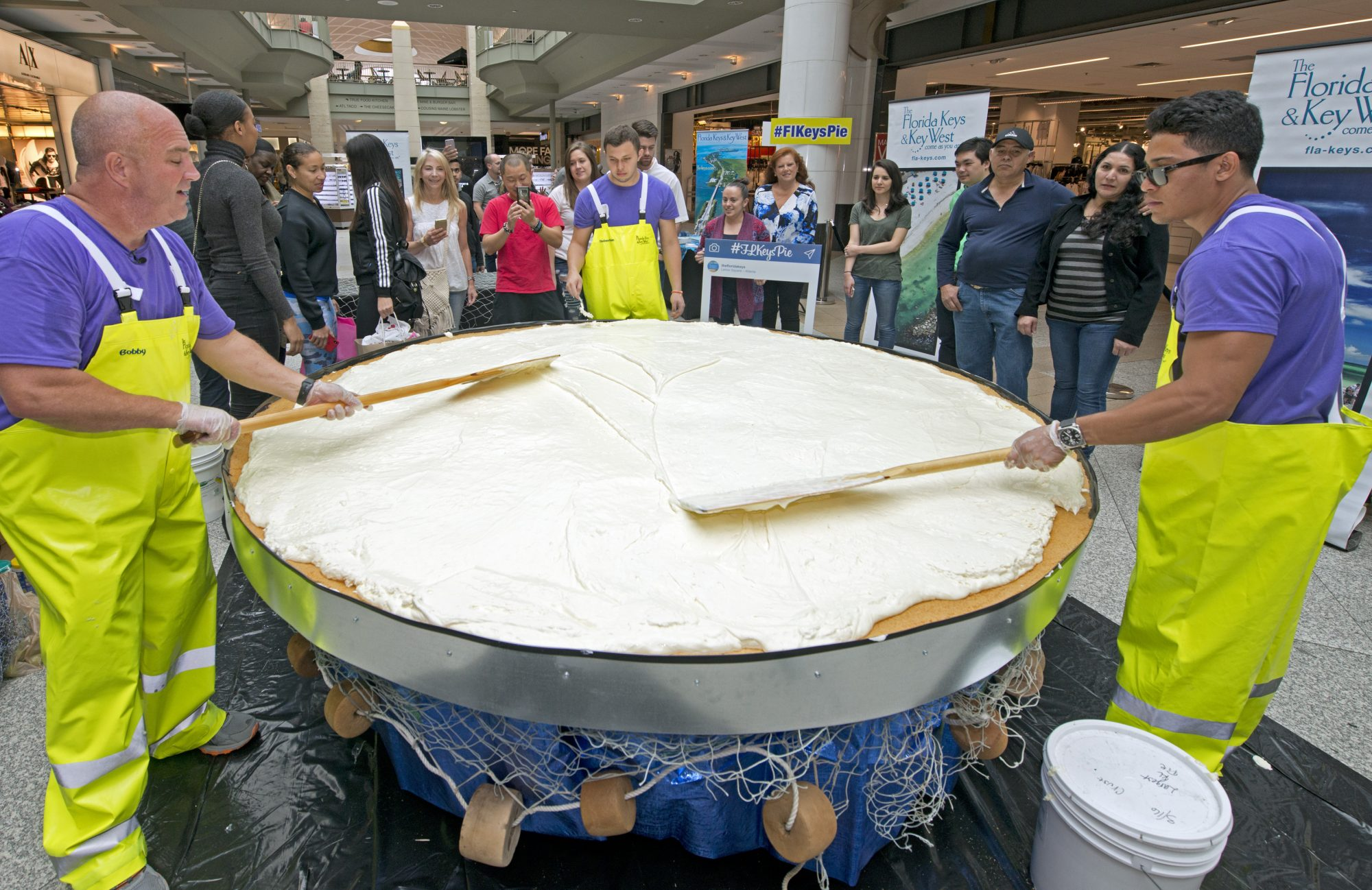Southern Living World's Largest Key Lime Pie