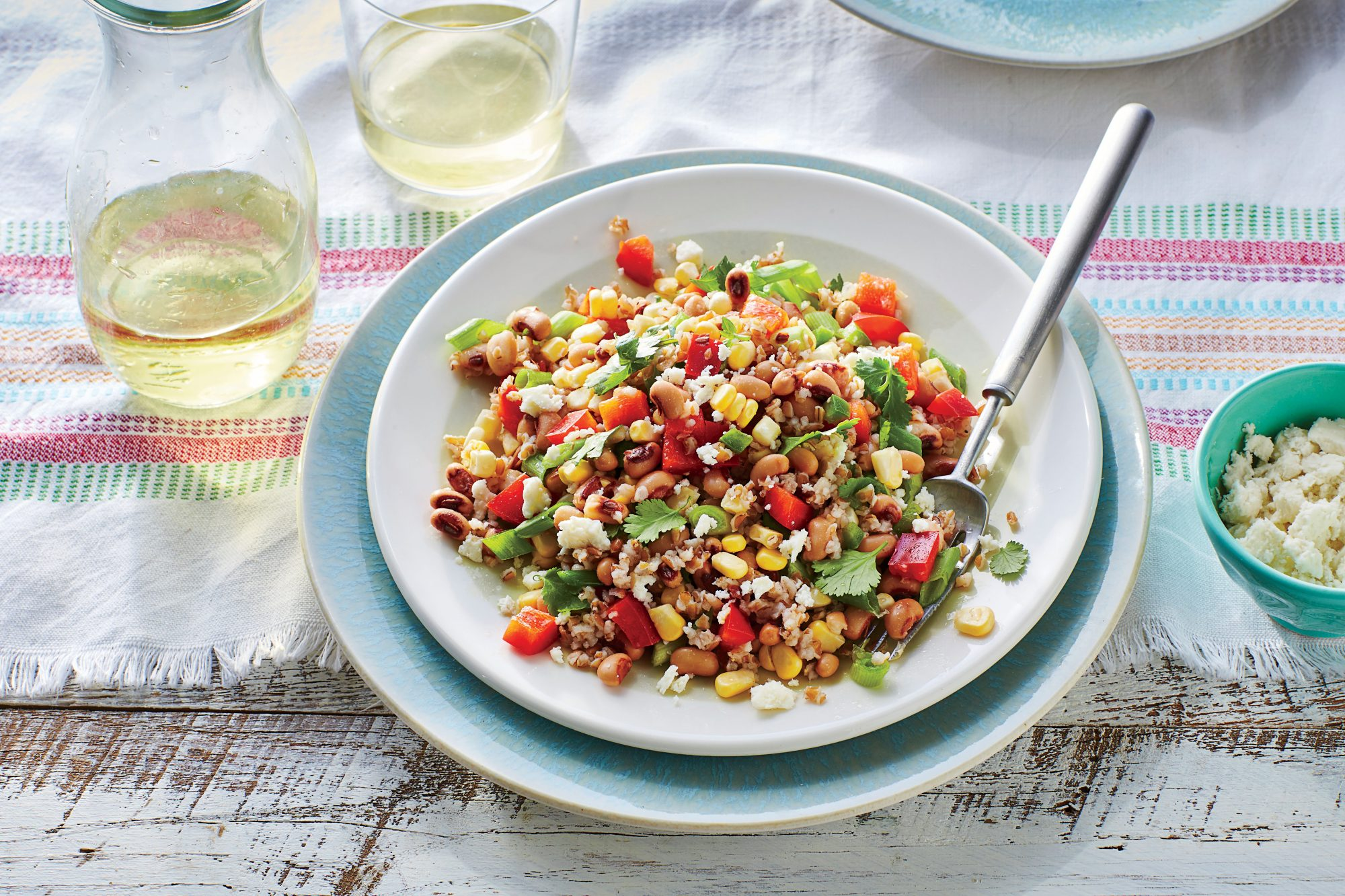 Black-Eyed Pea and Grain Salad