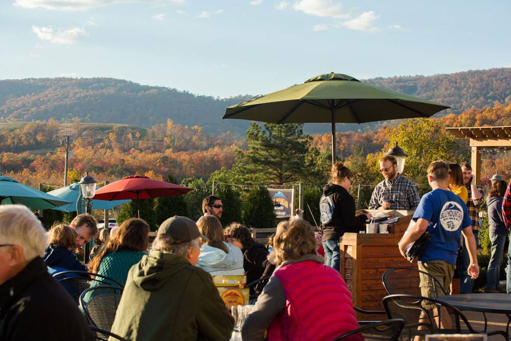 Virginia: Blue Mountain Brewery