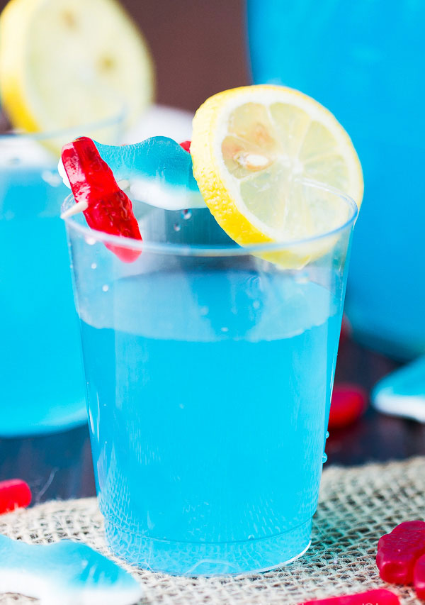 Cool Blue Punch