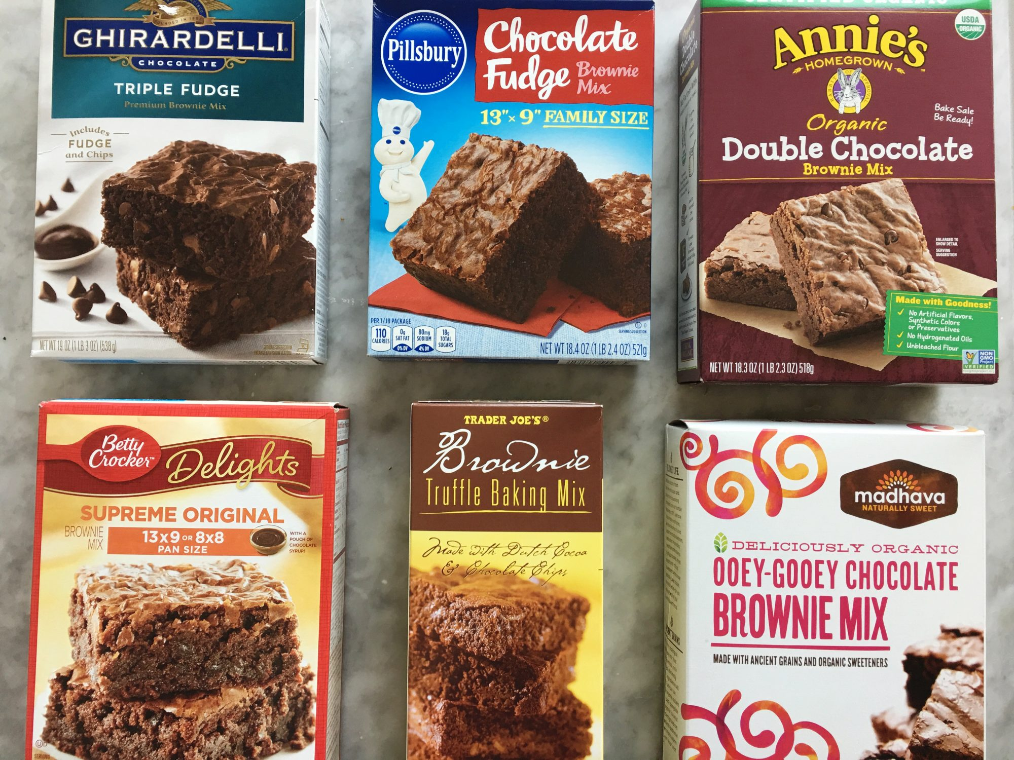 We Blind Tasted 6 Boxed Brownie Mixes and This Was the Unanimous Winner