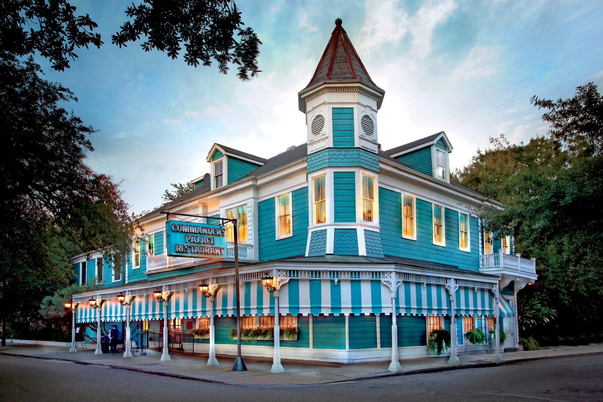 Commander's Palace in New Orleans, LA