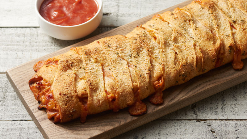 Chicken Parmesan Crescent Bread