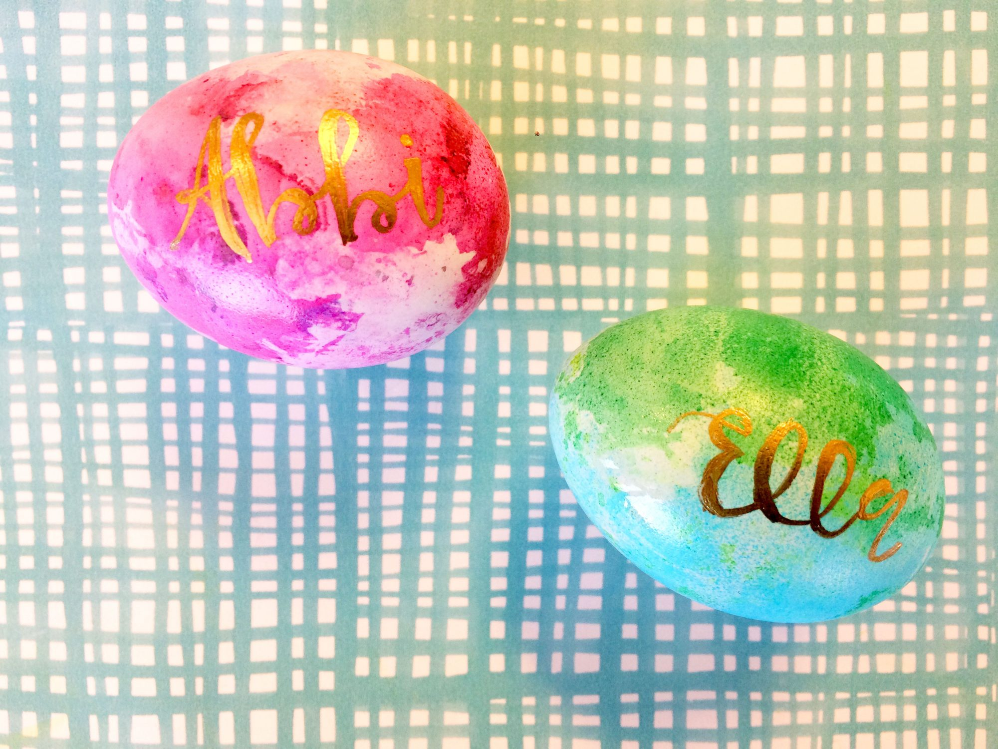 Easter Egg Placecard Hack