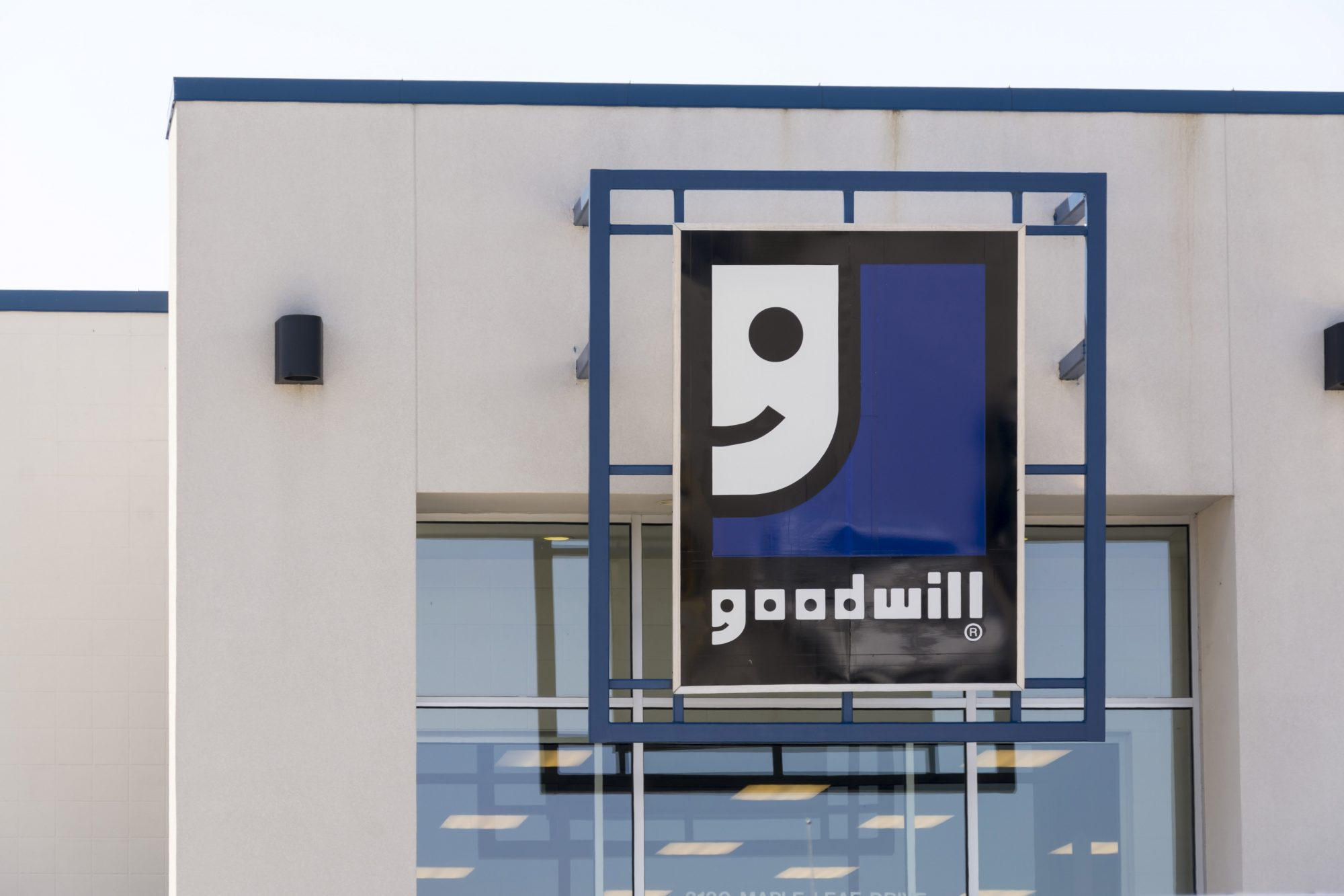 Southern Living Goodwill Store Sign