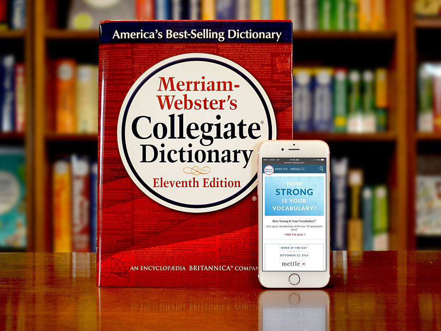 Merriam Webster food words