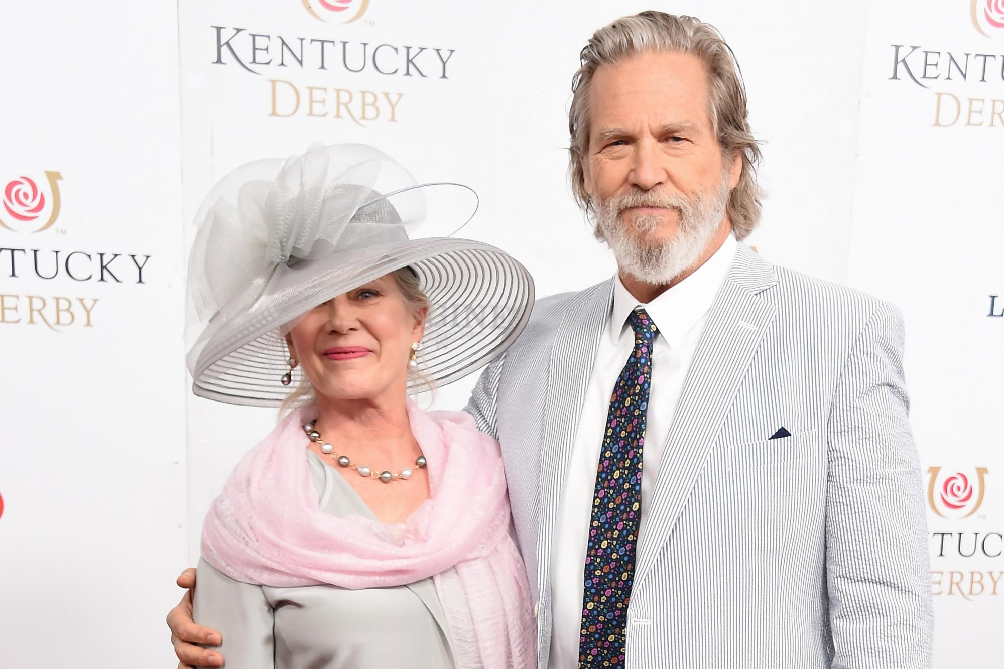 Susan Geston and Jeff Bridges