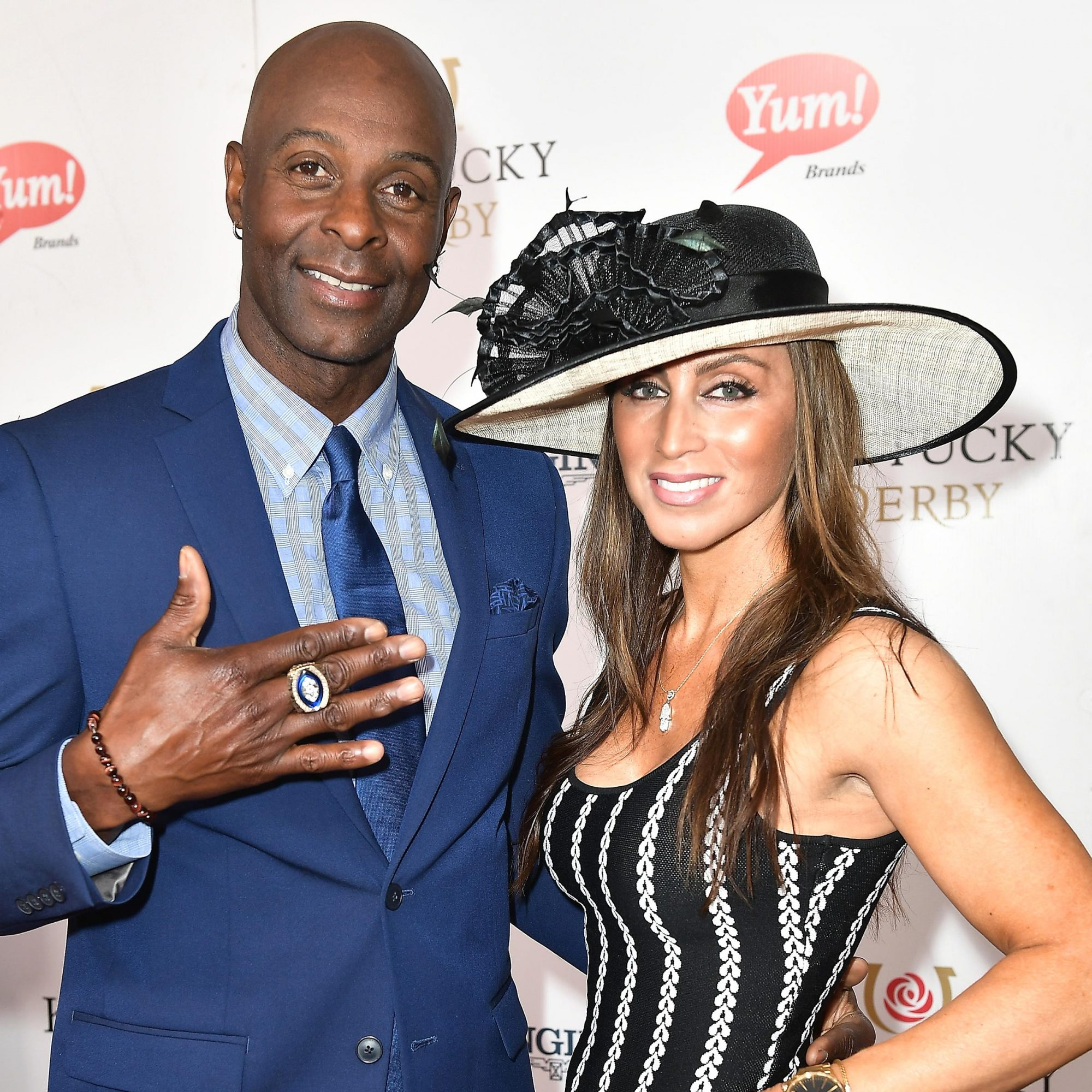 Jerry Rice and Colleen Murray