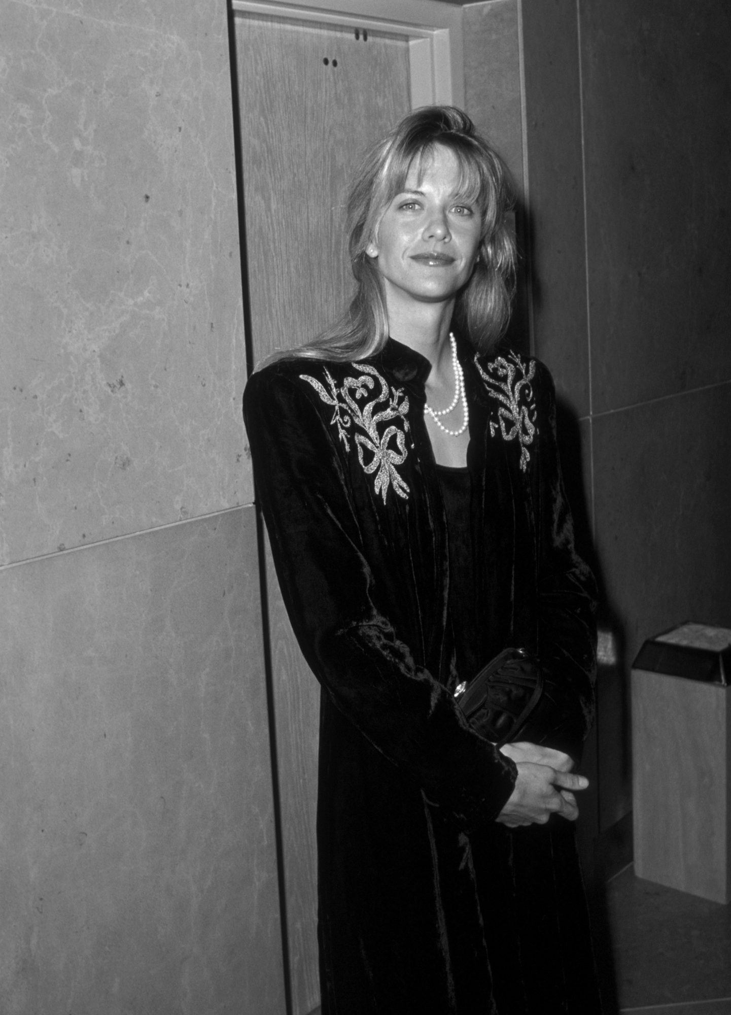 Meg Ryan Black and White