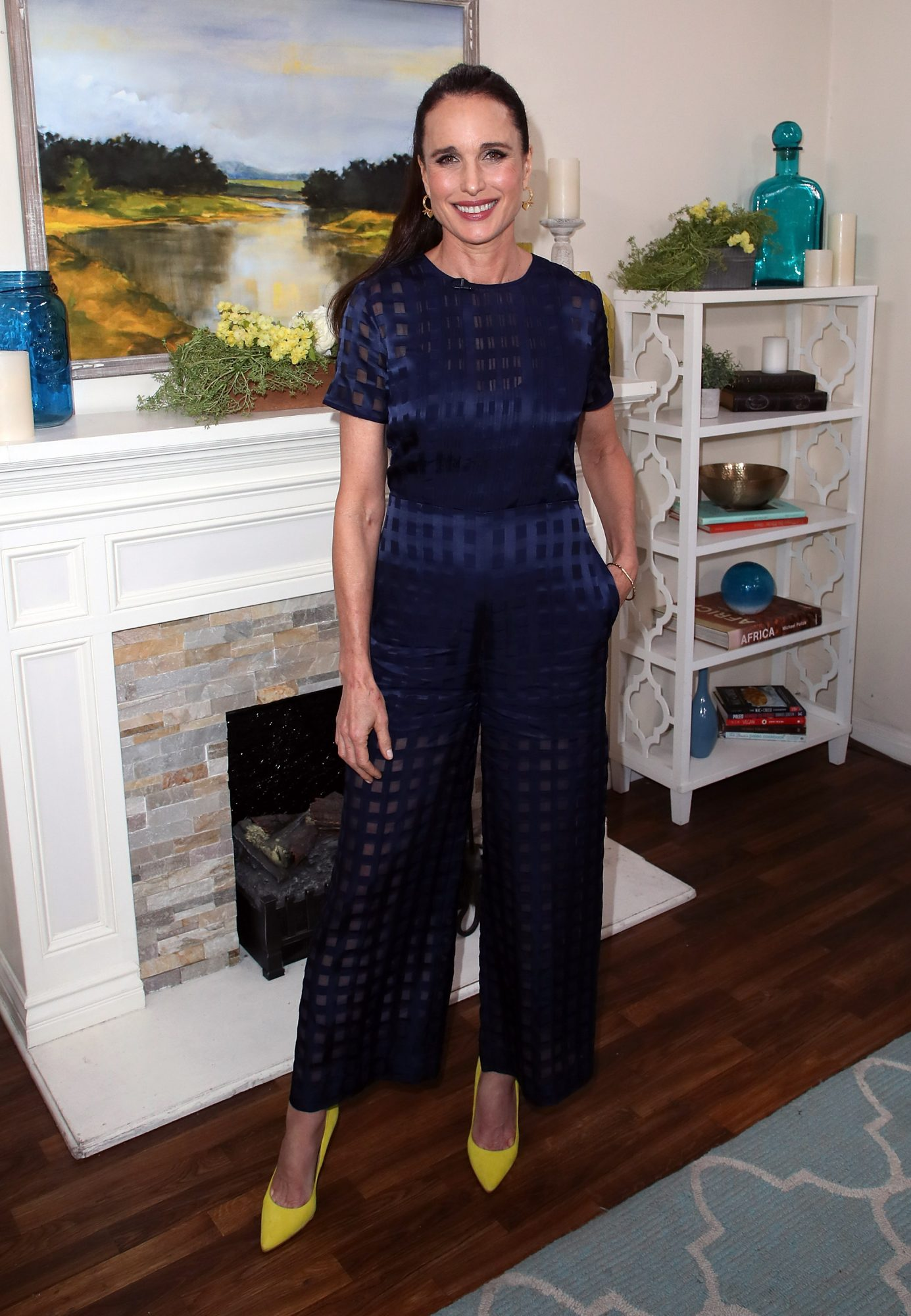 Andie MacDowell Hallmark Home and Family