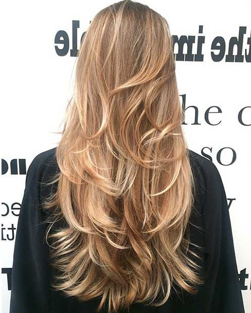 Golden Blonde with Major Layers