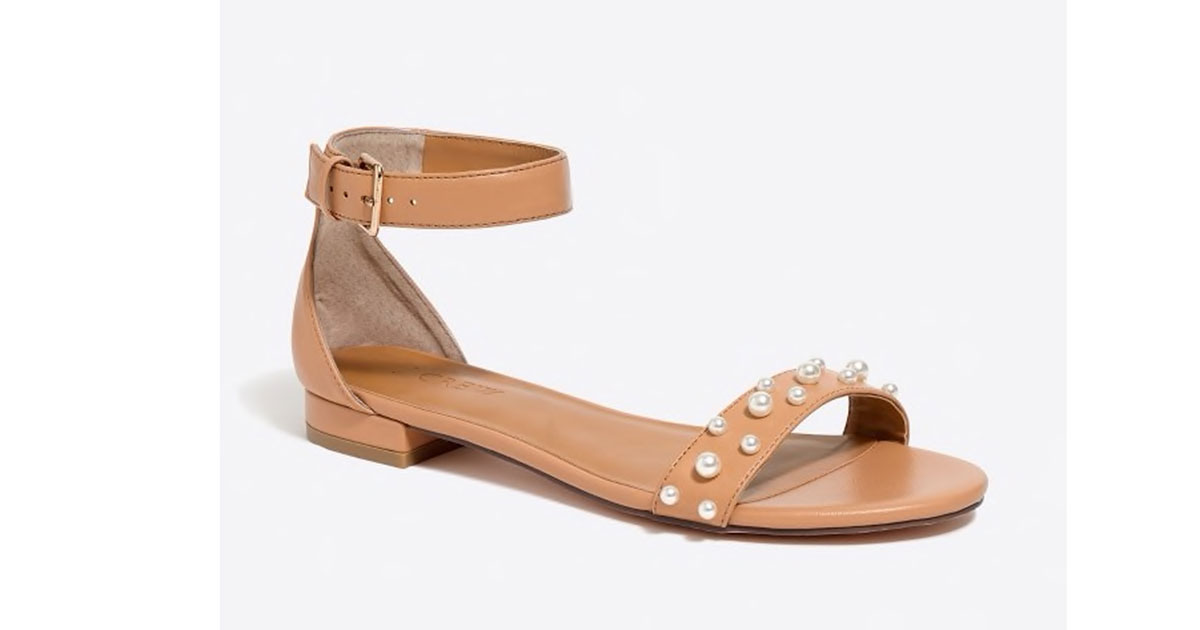 Hadley Pearl Ankle-Strap Sandals