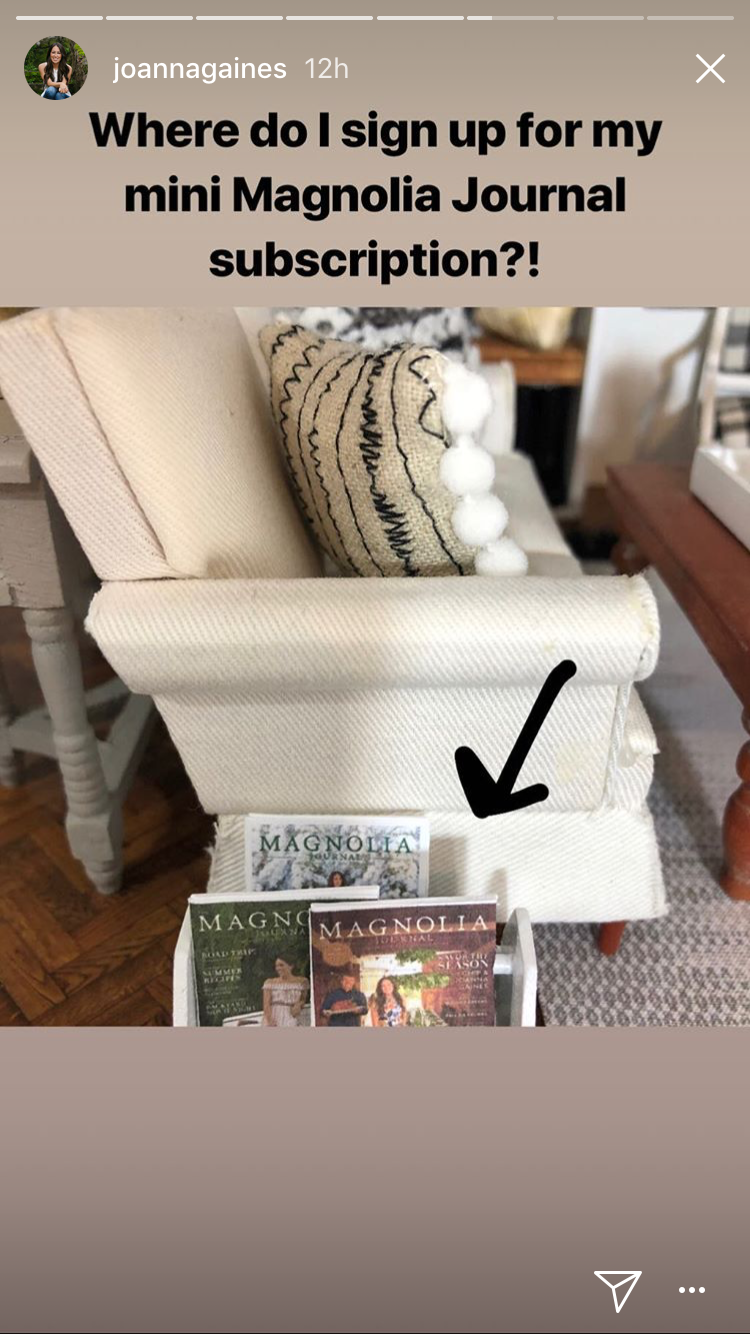 Joanna Gaines 'Can't Get Over' This Unbelievable Fixer Upper-Inspired Dollhouse img_7447