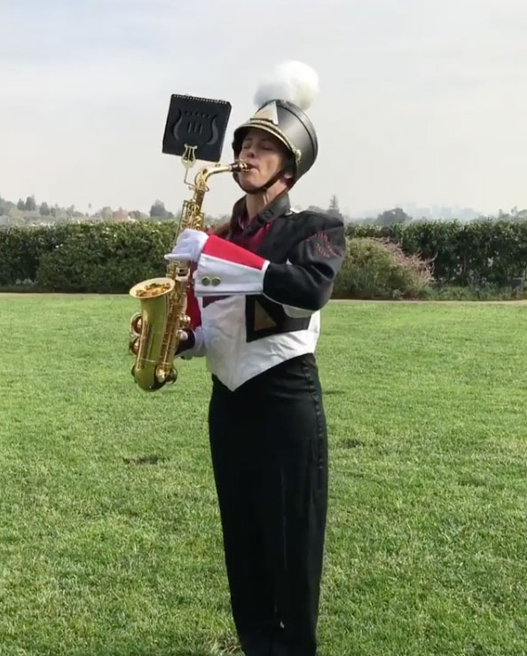 Jennifer Garner Playing Sax Reese Witherspoon