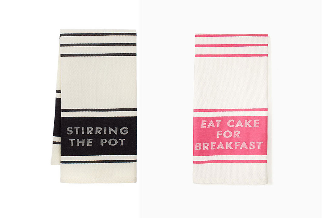 Diner Stripe Kitchen Towels