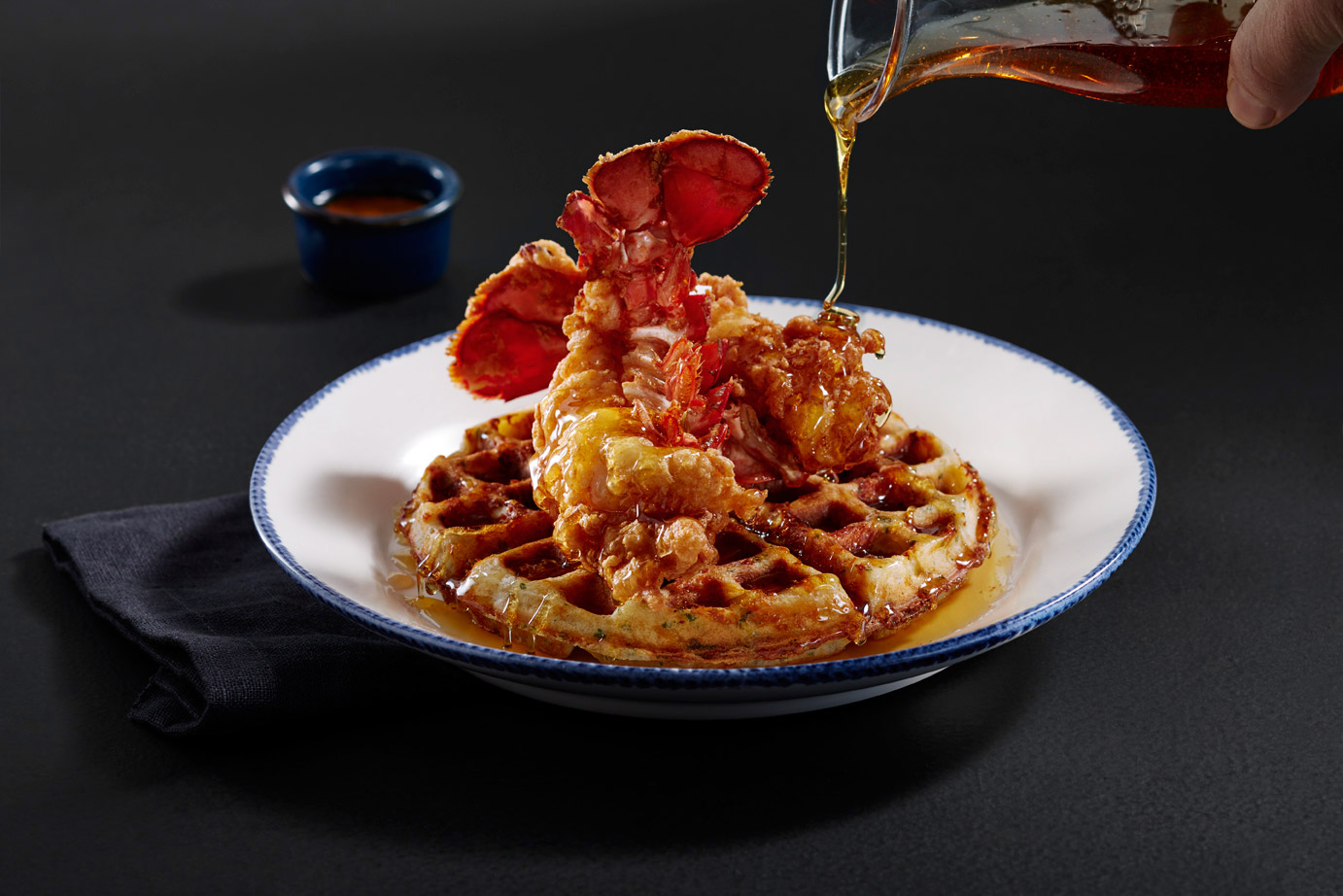 Red Lobster Announces Lobster and Waffles Made with Their Cheddar Bay Biscuits Batter