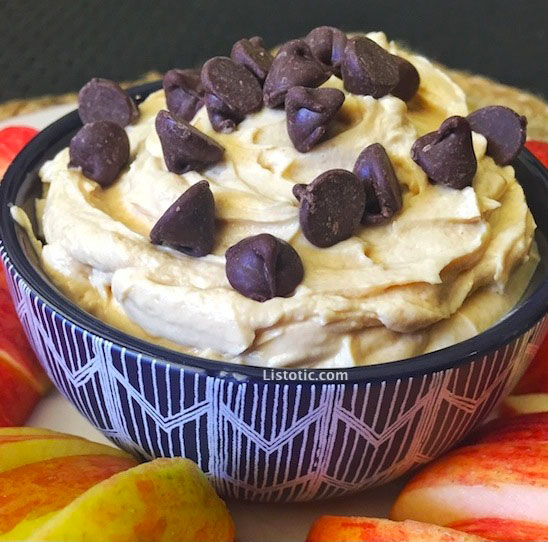 The Peanut Butter Dip—With Over 50,000 Saves On Pinterest—That We're Making ASAP