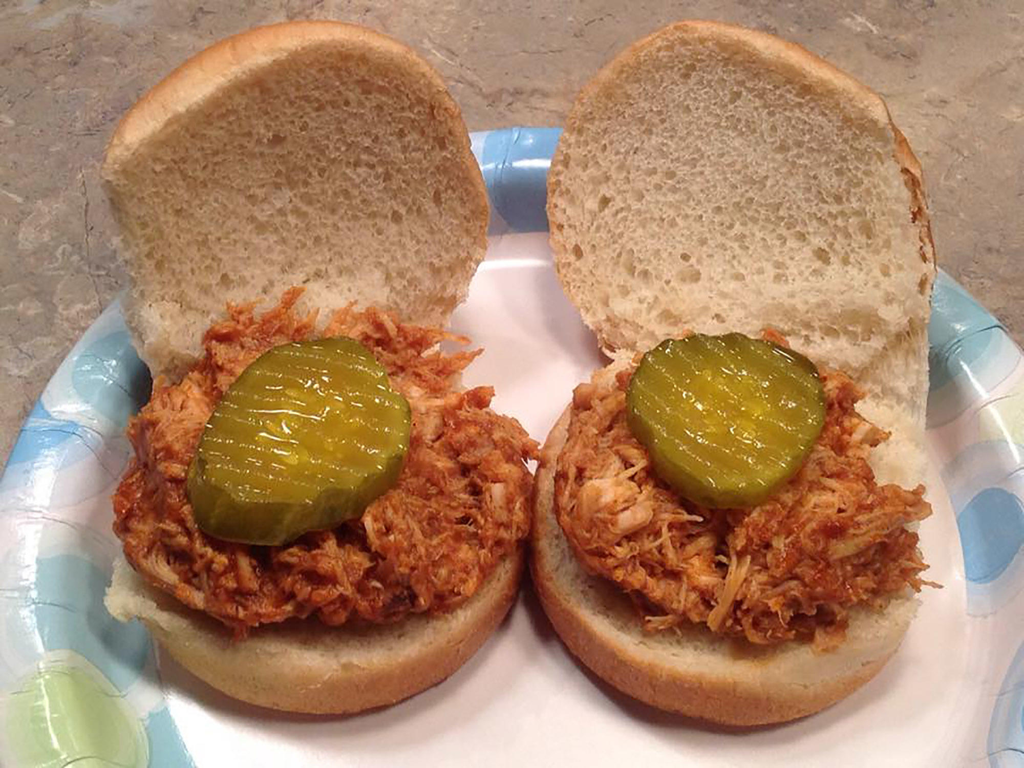 This Hack Will Change the Way You Shred Chicken sandwich