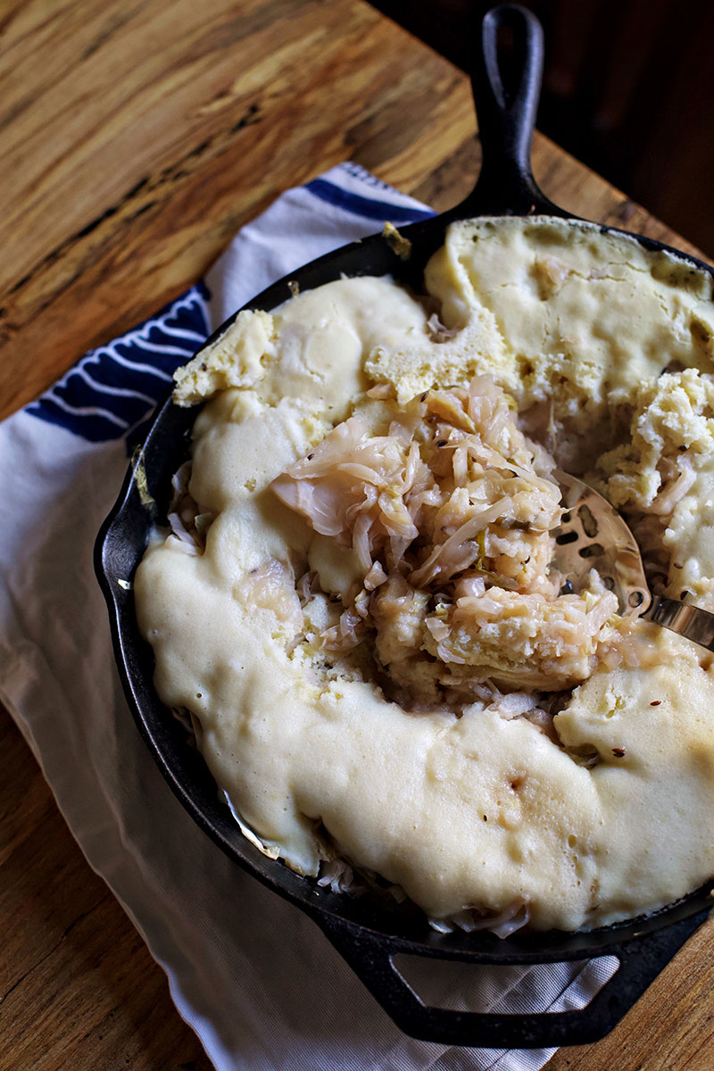 Sauerkraut and Dumplings