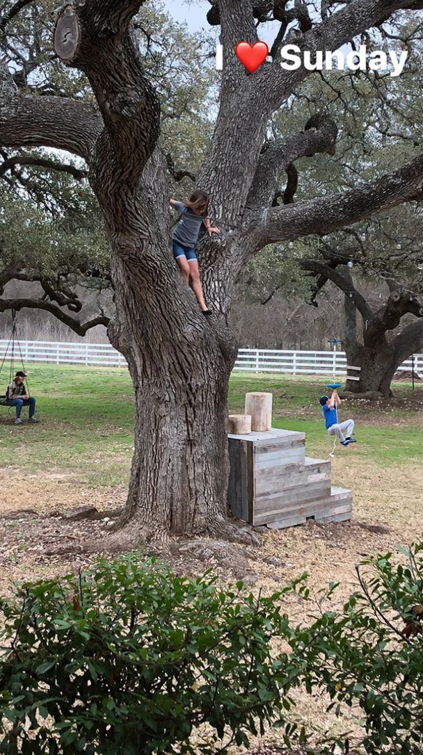 Chip and Joanna Gaines' 12-Year-Old Son, Drake, Hams It Up Like Dad During Backyard Playdate screen-shot-2018-03-05-at-9-25-06-am