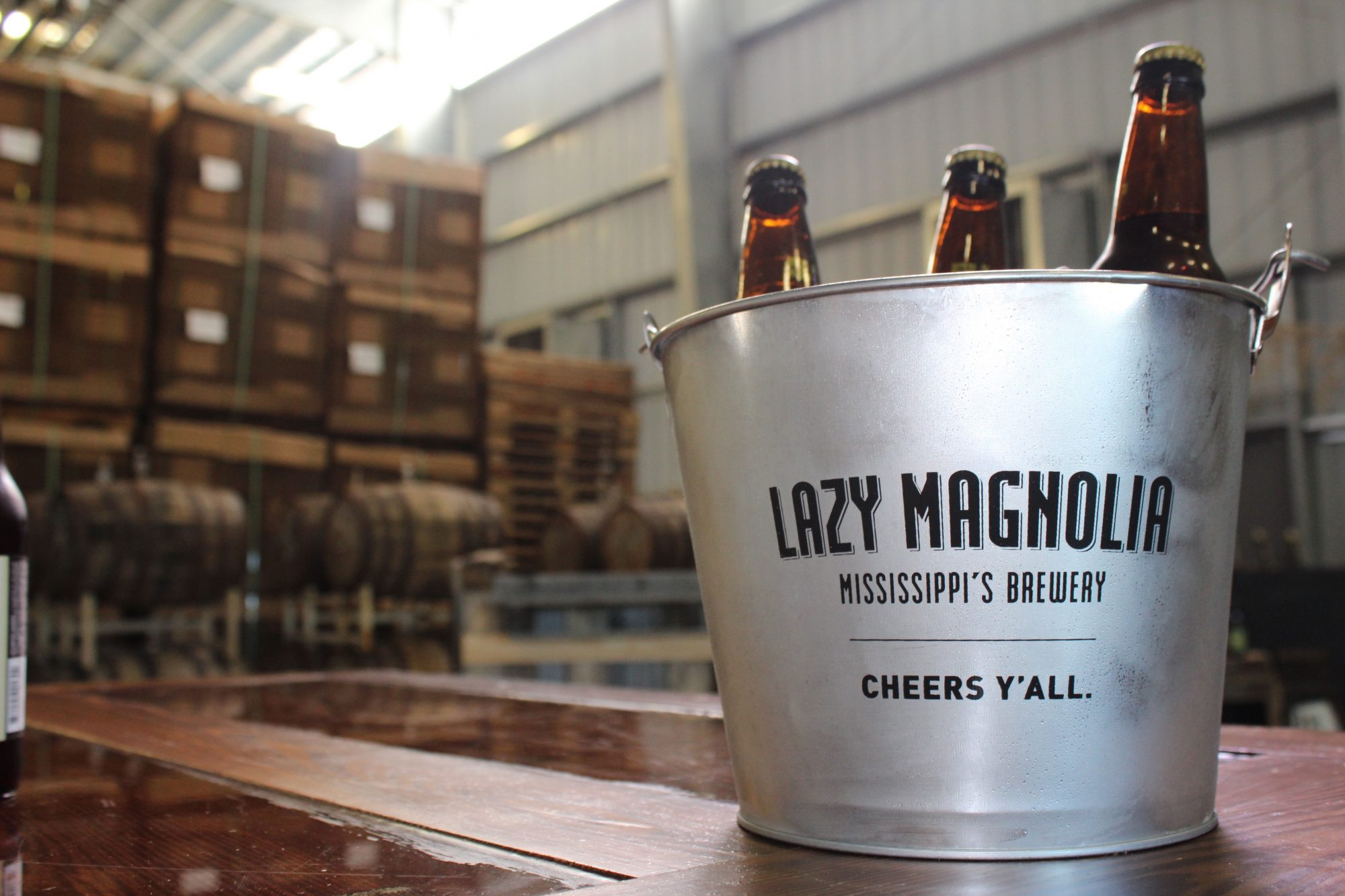 Not Since Prohibition: Lazy Magnolia Brewery