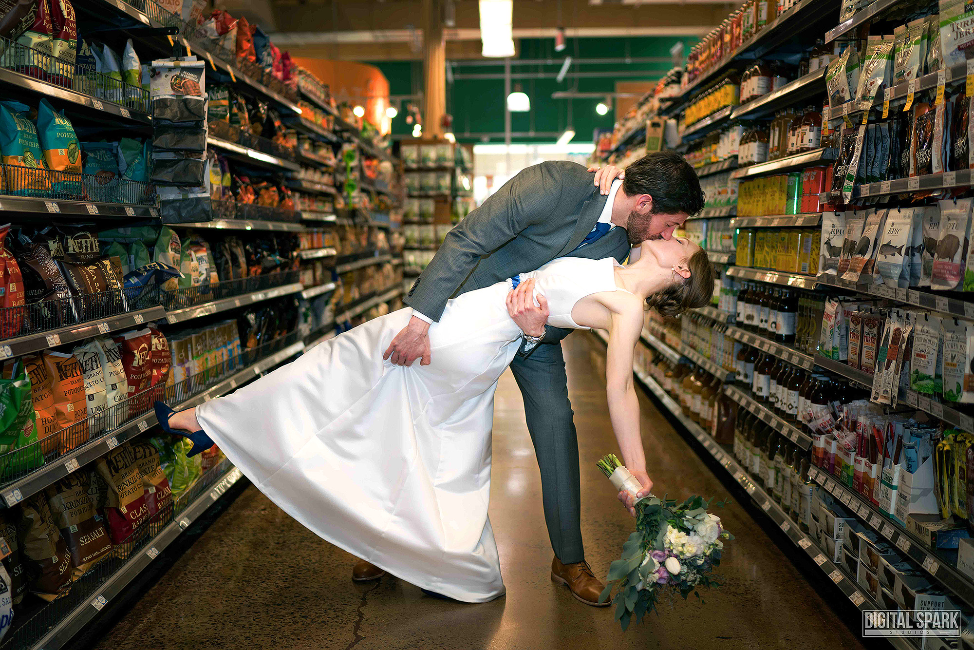 This Couple Loves Whole Foods So Much, They Got Married There whole-foods-wedding