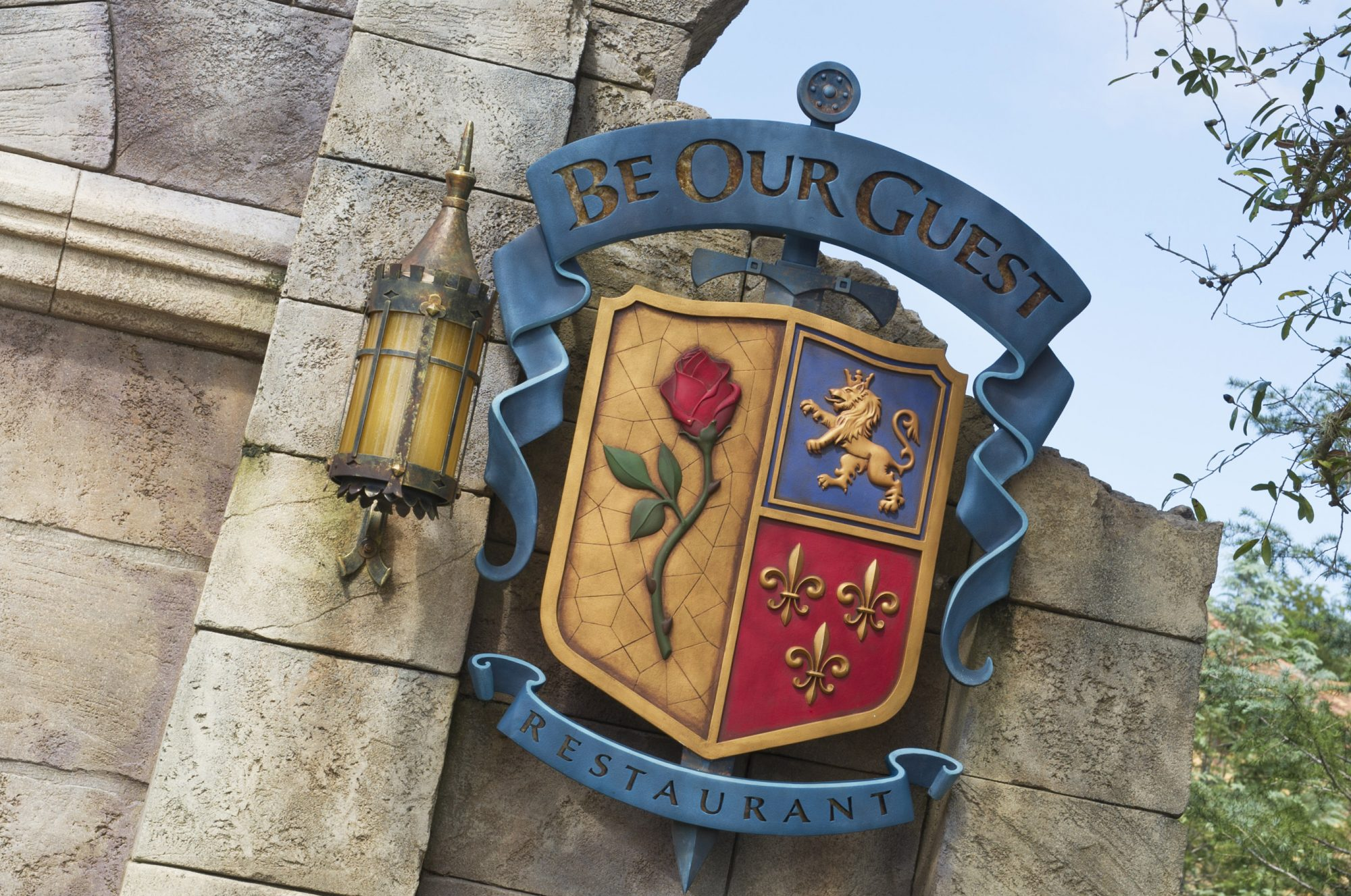 Be Our Guest Restaurant Exterior
