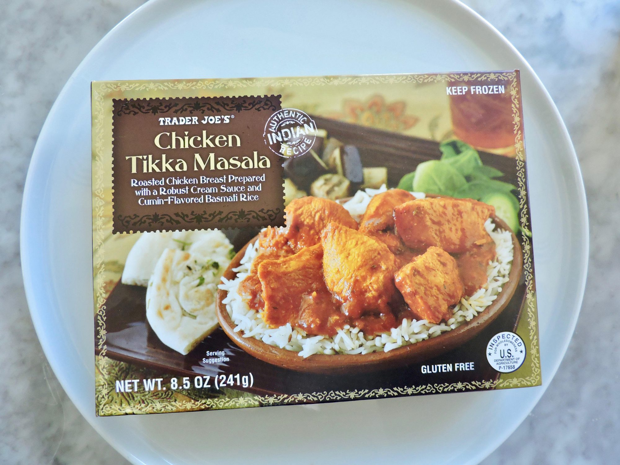 15 Nutritionist-Approved Trader Joe's Foods for $5 or Less 1804w-Chicken-Tikka-Masala